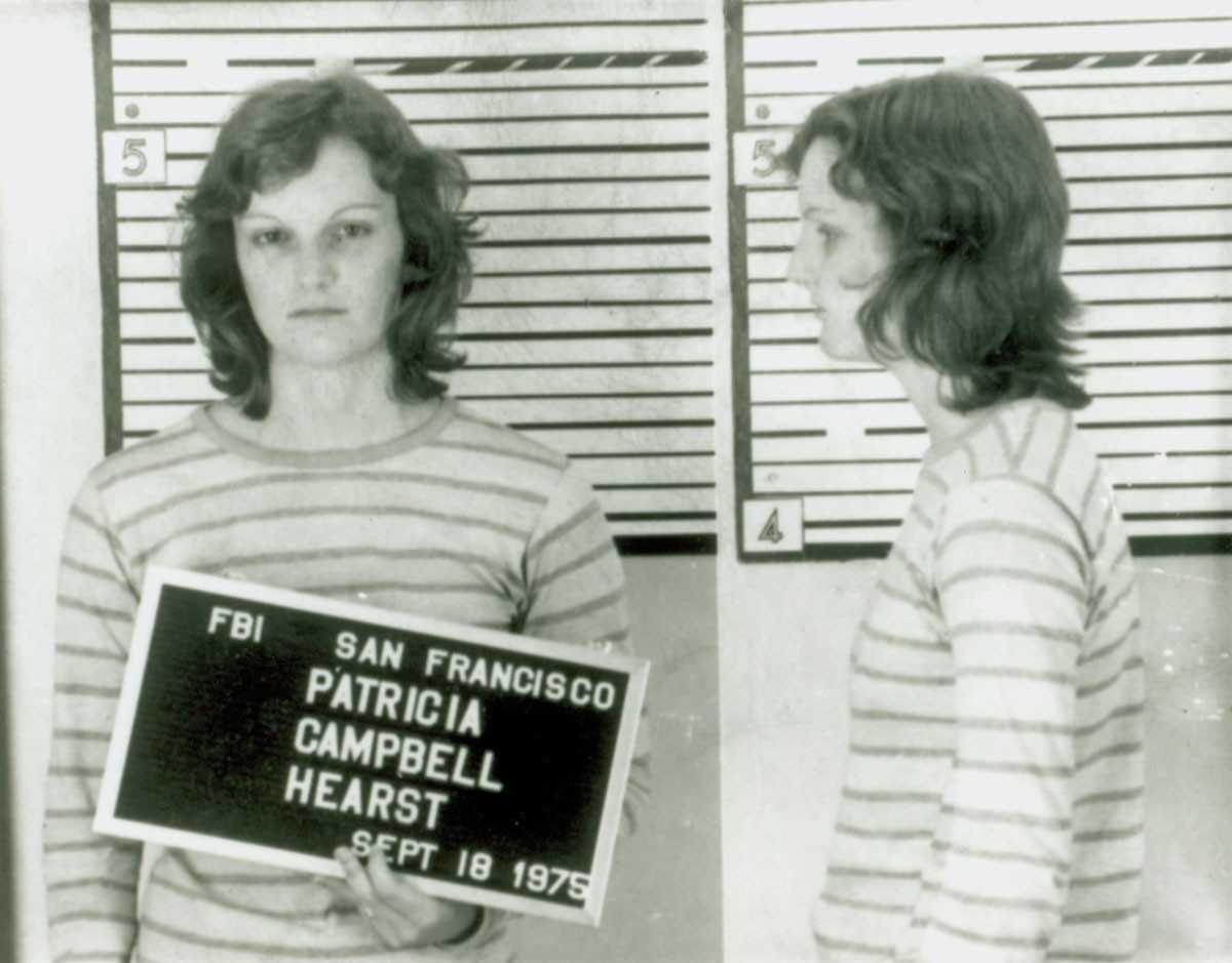 "Patty Hearst is shown in an arrest mugshot in San Francisco on Sept. 18, 1975. ""The Lost Tapes: Patty Hearst"" airs at 9 p.m. Sunday on the Smithsonian Channel."