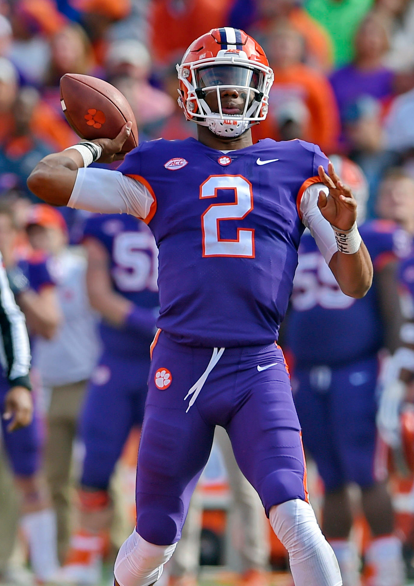 Clemson quarterback Kelly Bryant hopes to have a big game when the Tigers face South Carolina today in Columbia.