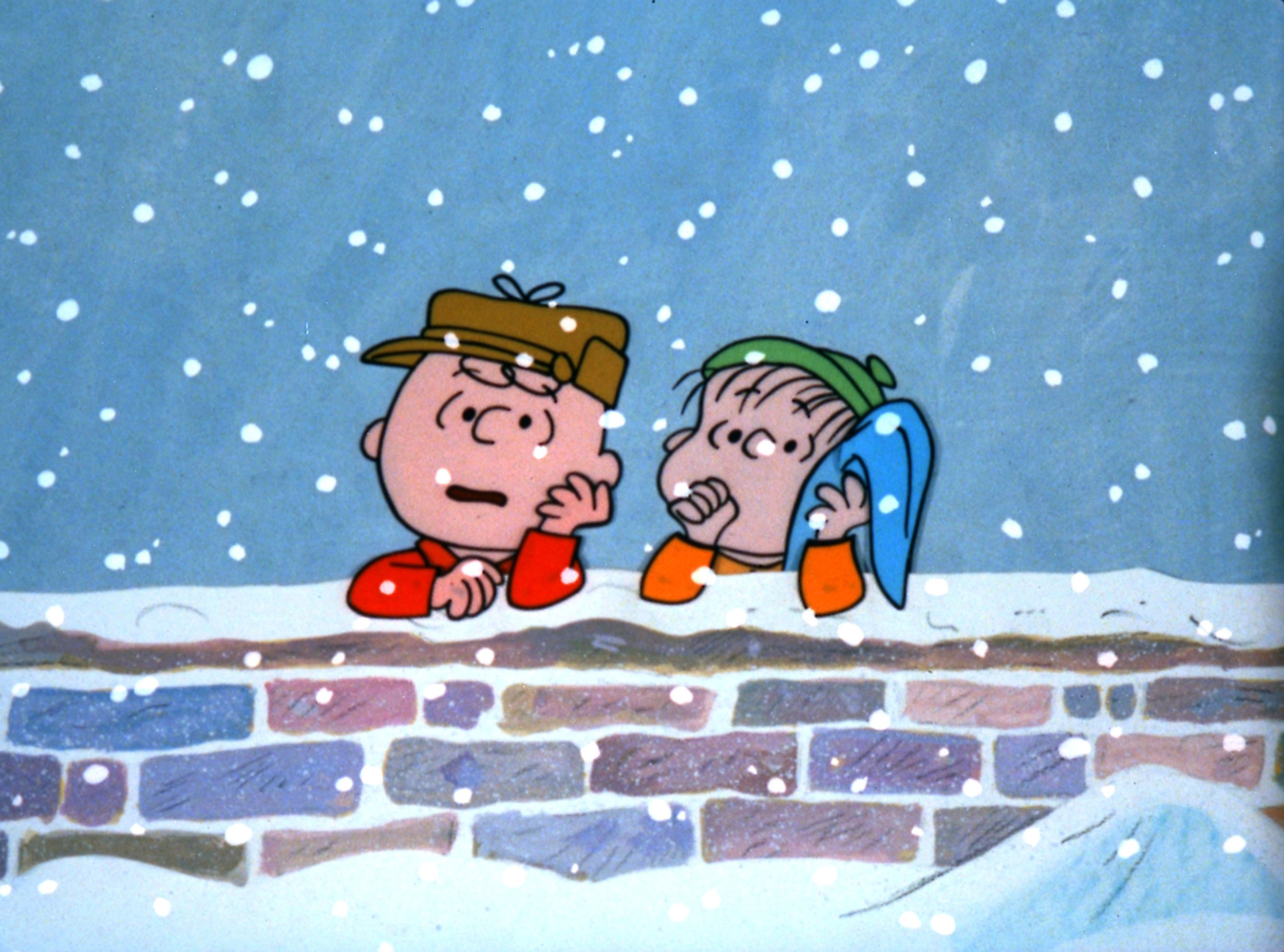 "Charlie Brown, left, and Linus discuss the real meaning of Christmas in ""A Charlie Brown Christmas,"" airing at 8 p.m. today on ABC."