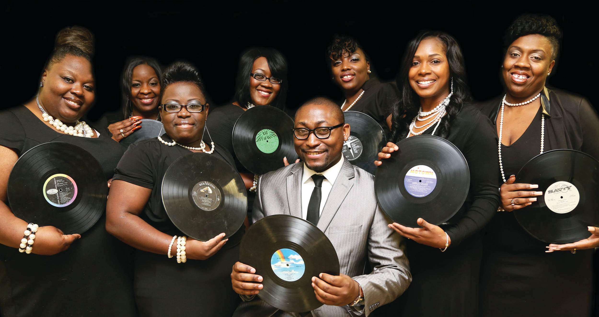 PHOTO PROVIDEDPurpose Driven is one of more than a dozen gospel groups performing Sunday at Union Hall.
