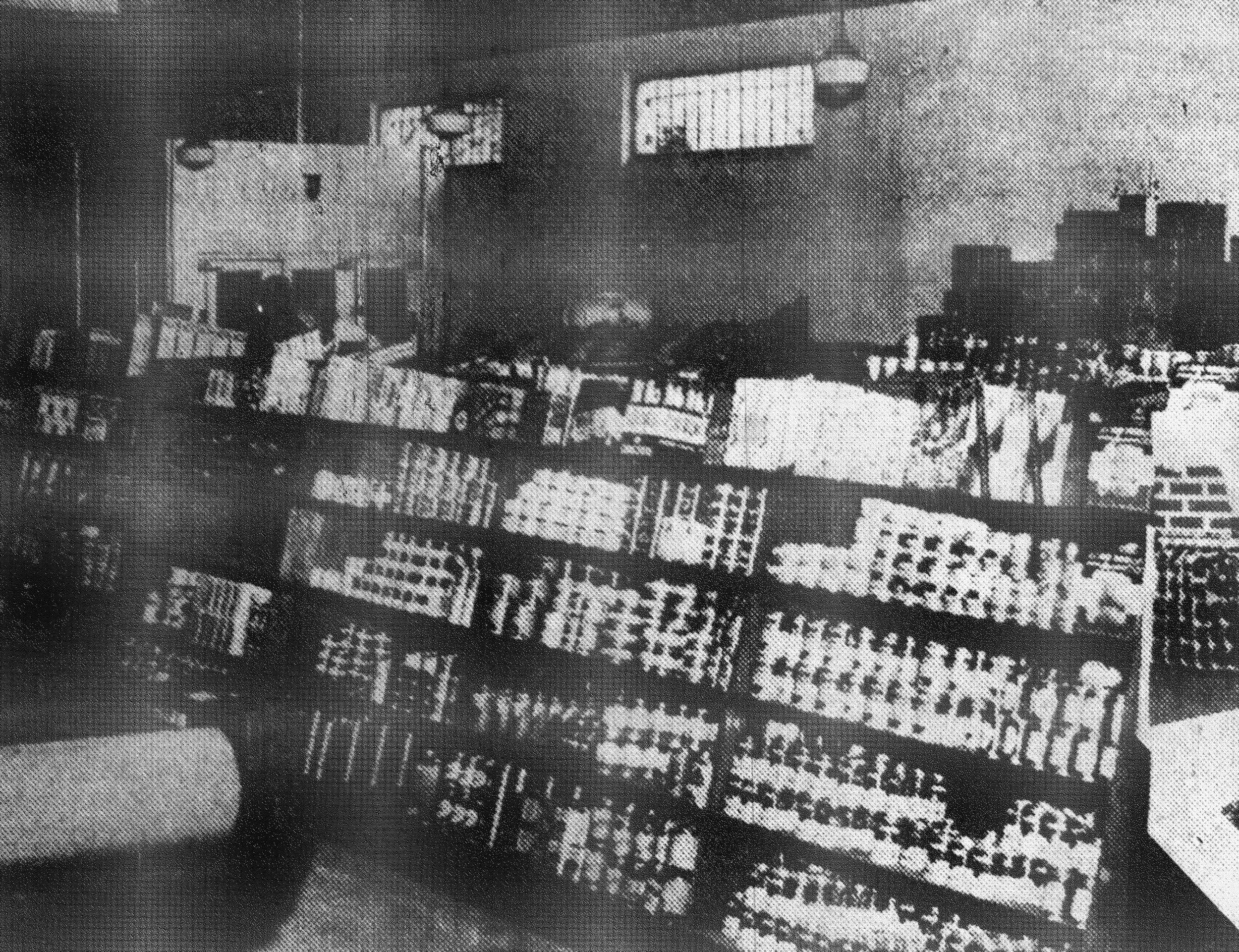 The Cantey-Plowden Co. store, seen here in 1942, was equipped with new and modern fixtures and included a complete meat market department. A large parking lot at the rear of the building was an added convenience to customers. B.O. Cantey and W.R. Plowden were active managers of the company.