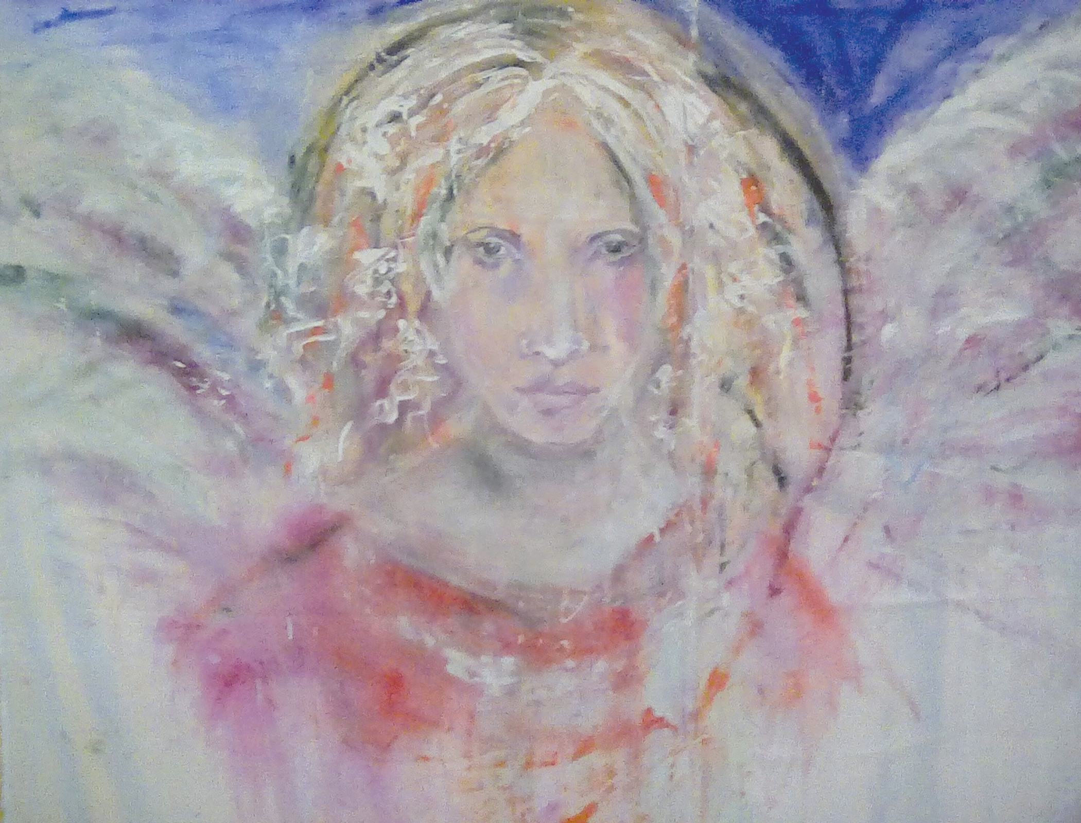 The Sumter Artists' Guild Holiday Mart will feature 16 guild members selling their artwork such as the angel painting by Connie Brennan, above, from 10 a.m. to 4 p.m. Saturday during Christmas at Patriot Hall. A variety of artwork in several different media will be available for purchase as Christmas gifts or for the art lover's personal collection.