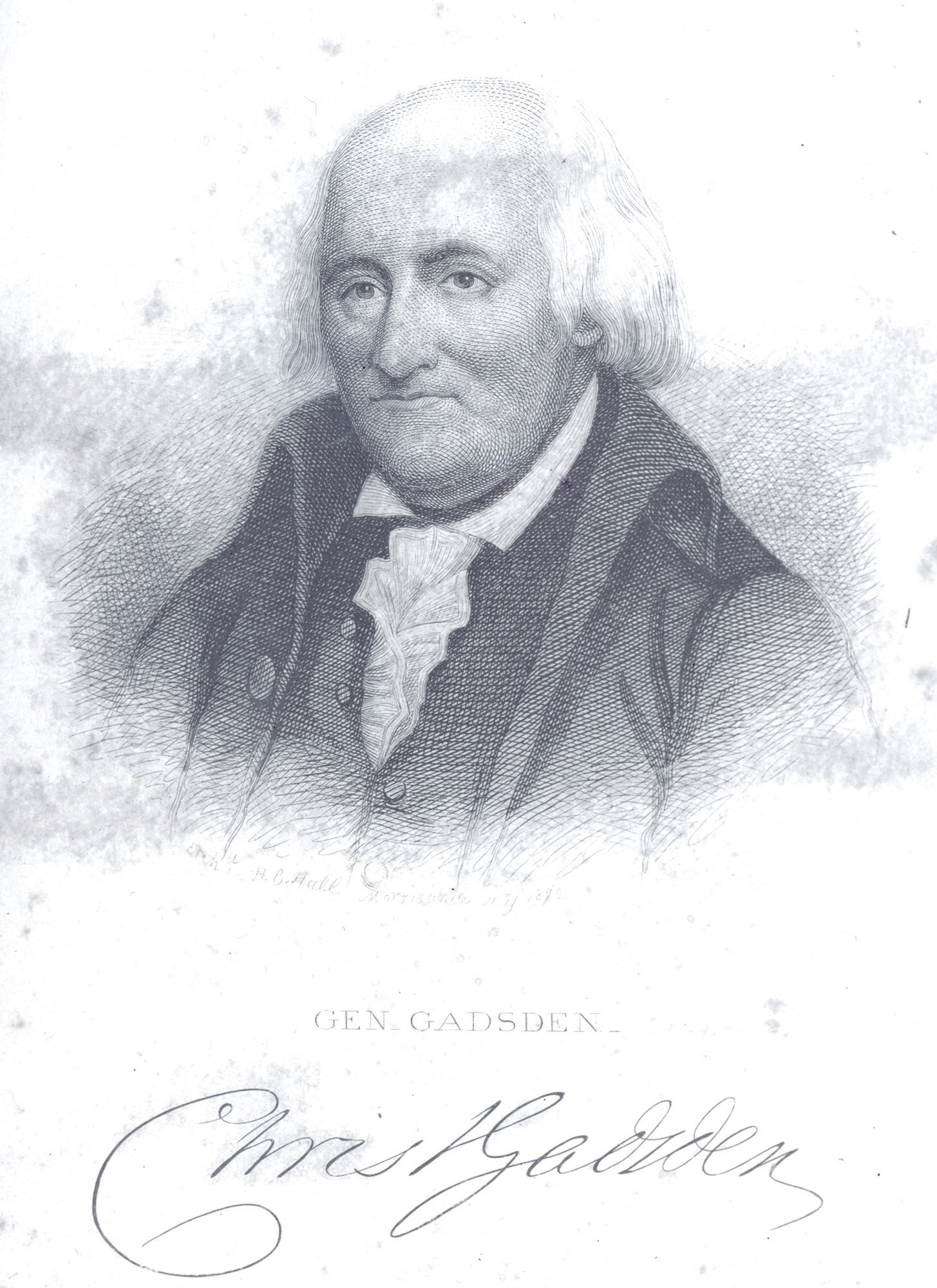 PHOTO PROVIDEDChristopher Gadsden was denied the oath of office by Governor Boone in 1762. He would later serve in the Stamp Act Congress, the First Continental Congress, and, eventually, as a brigadier general in the Continental Army.