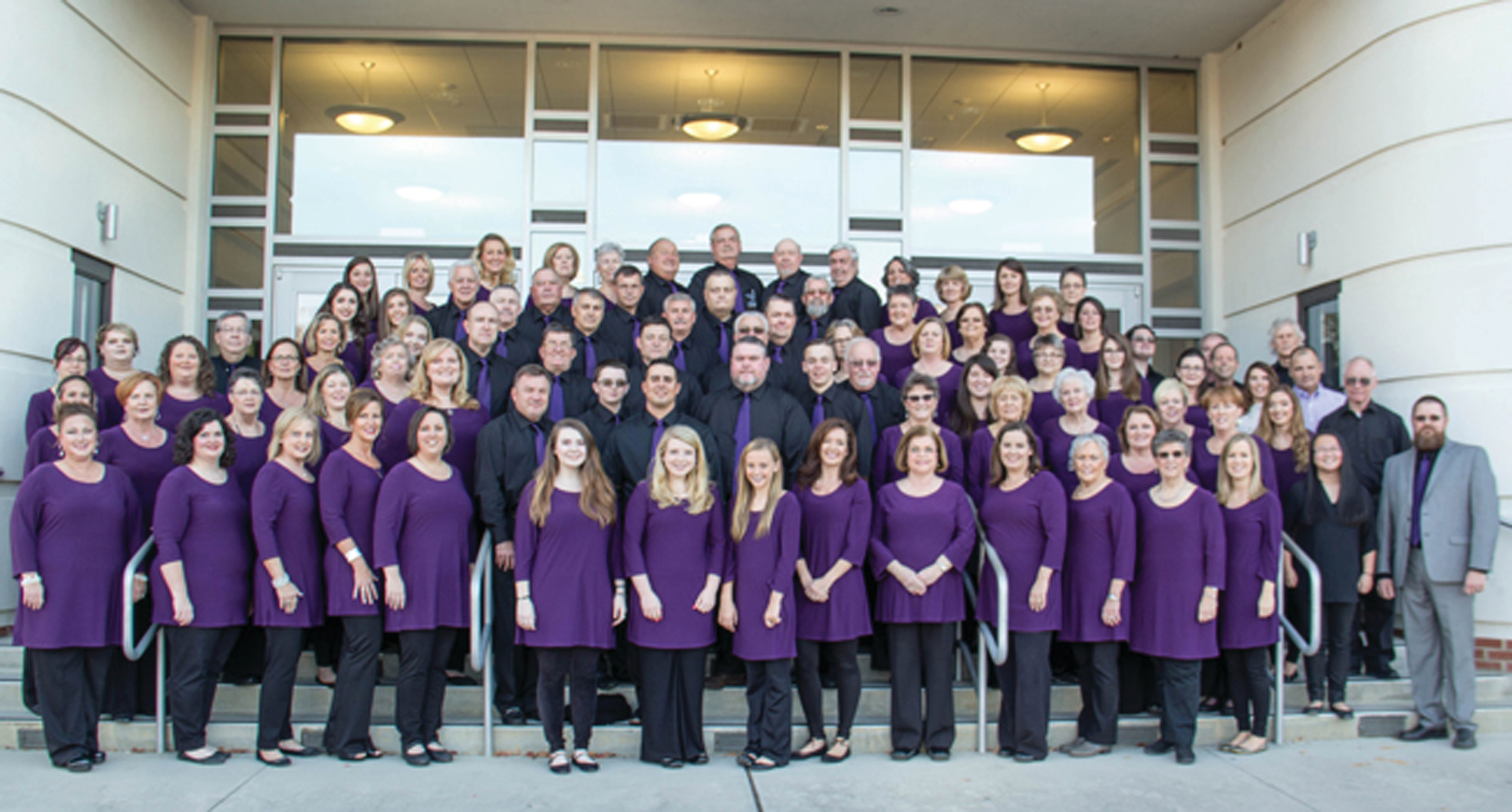 The new East Clarendon Community Choir has 87 members from churches in the Turbeville area.