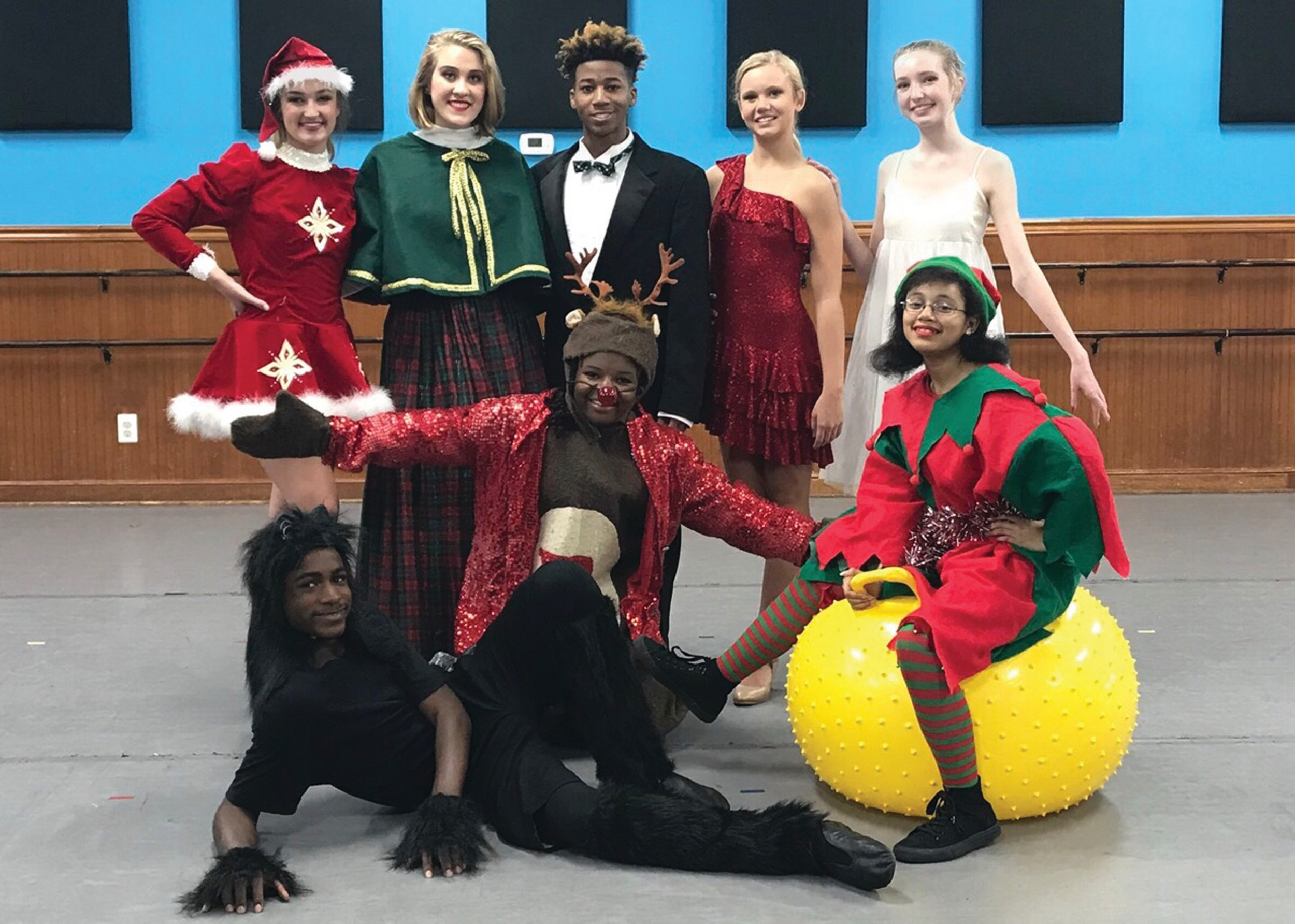 Joining the Sumter Civic Dance Company will be the choirs from Sumter and Lee Central high schools and Bethesda Church of God. Santa's reindeer, Santa, the Grinch, Cats from the Broadway musical, can can dancers, elves, toys and more will perform in the lavish show inspired by the Radio City Music Hall Rockettes' Christmas Show.