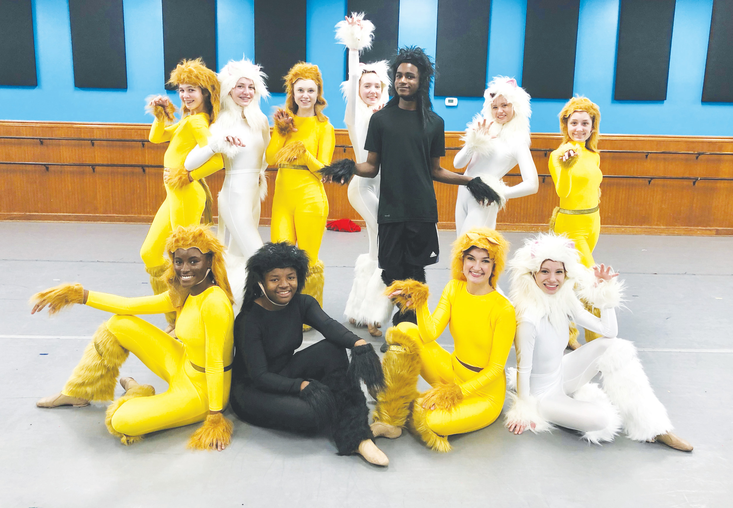 "Members of the Sumter Civic Dance Company will perform to ""Jellicle Ball"" from the Broadway musical ""Cats"" during Jingle with the Arts on Friday and Saturday at Patriot Hall."