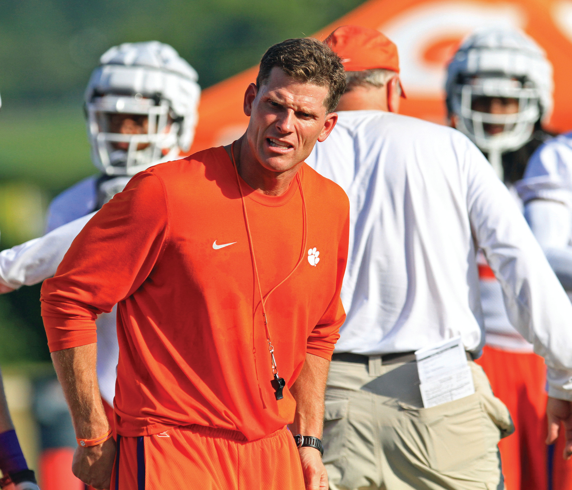 Clemson defensive coordinator Brent Venables is college football's second highest-paid assistant at $1.7 million a season.