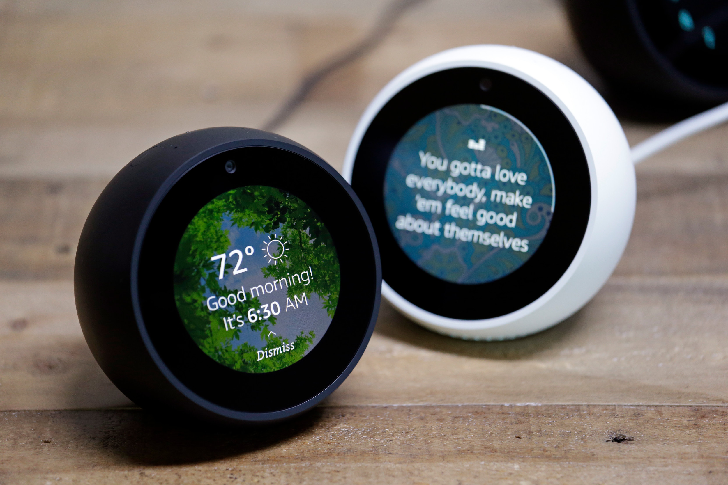 AP FILE PHOTOAmazon Echo Spots