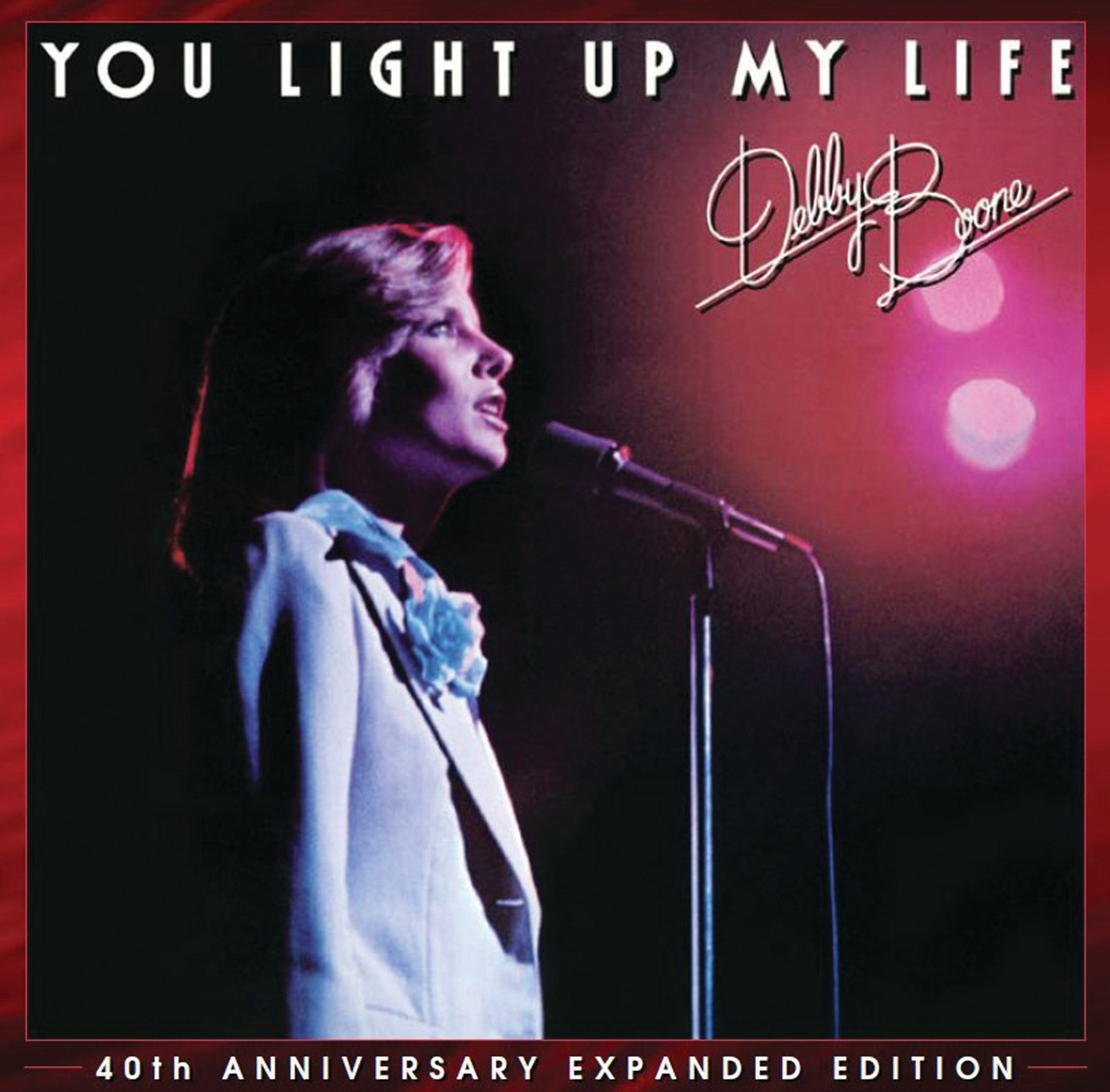 "Debby Boone is celebrating the 40th anniversary of her big hit, ""You Light Up My Life,"" recorded when she was 21, with an updated release. Boone remembers hearing her version of the song for the first time while driving with her best friend: ""We had to pull over because we were just screaming, and there were tears in my eyes."""