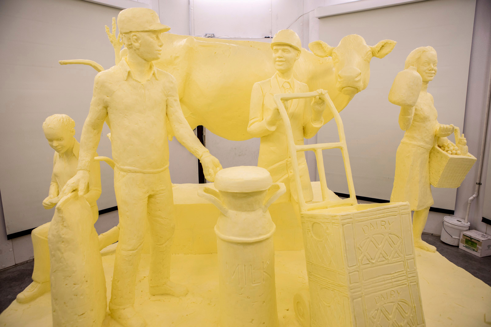 Pennsylvania unveils half-ton butter sculpture ahead of Farm Show