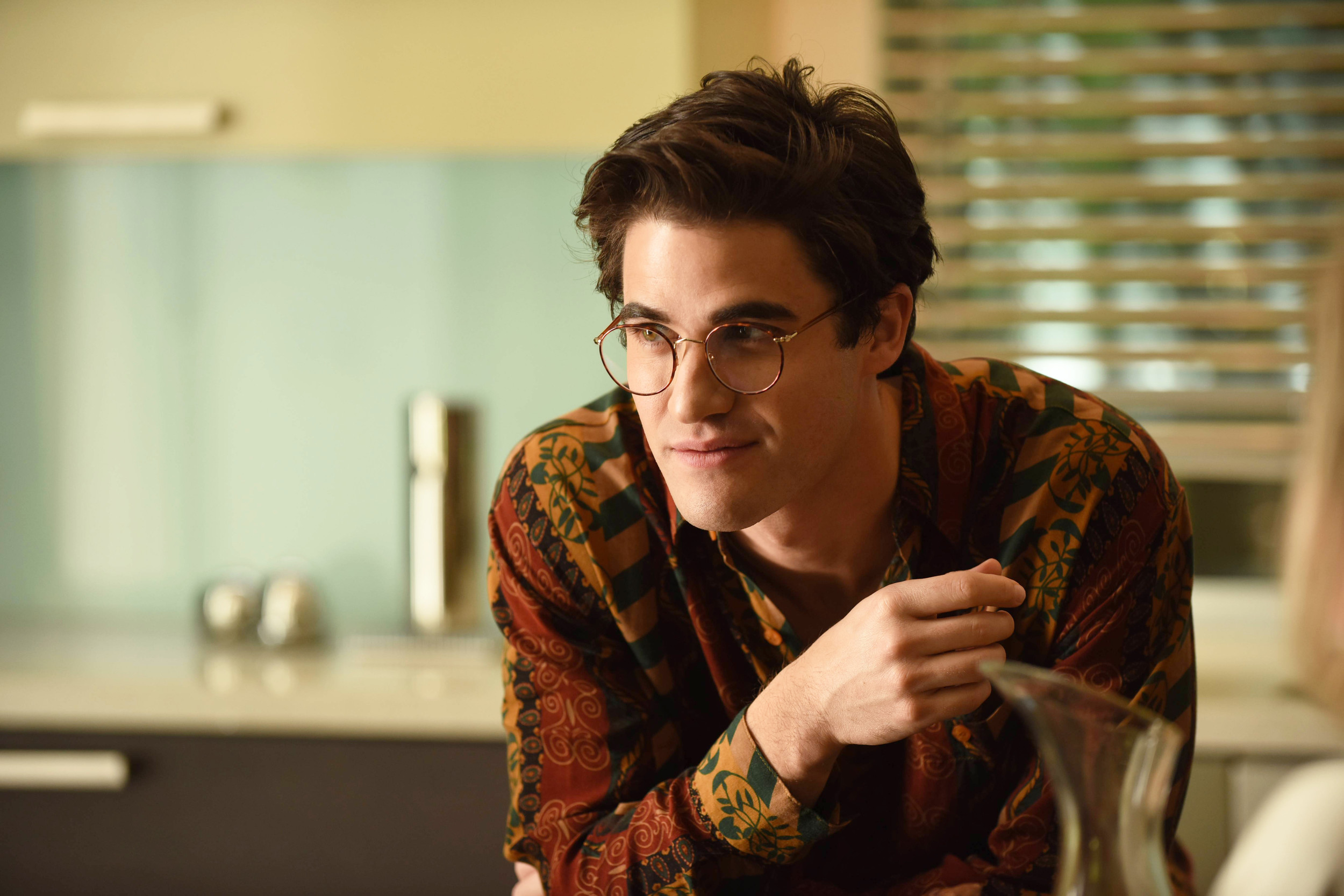 "Darren Criss stars as Andrew Cunanan in ""The Assassination of Gianni Versace: American Crime Story,"" premiering at 10 p.m. today on FX."