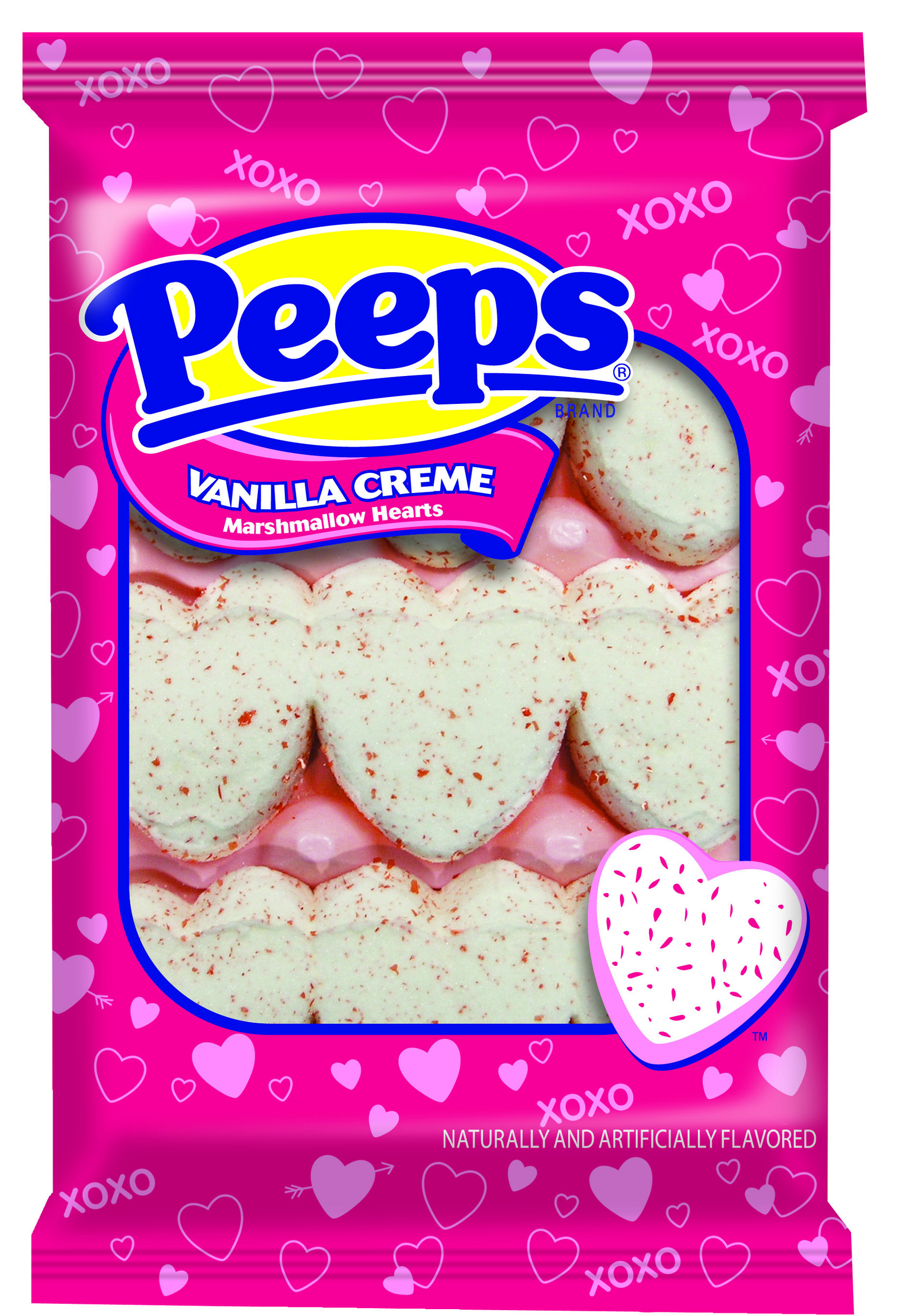 Peeps Vanilla Creme Marshmallow Hearts may be all it takes to please your loved one.