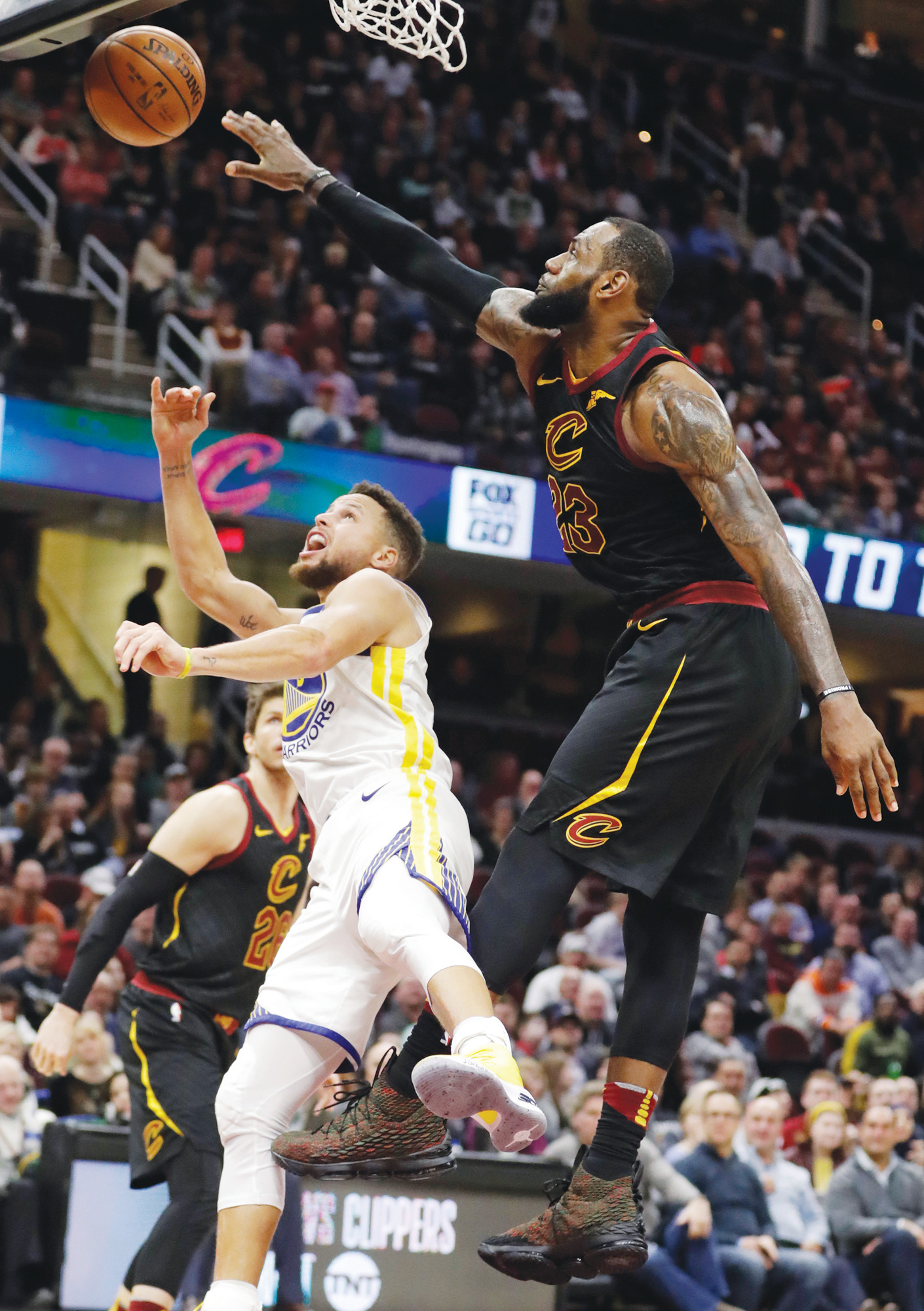 LeBron, Curry captains, to draft NBA