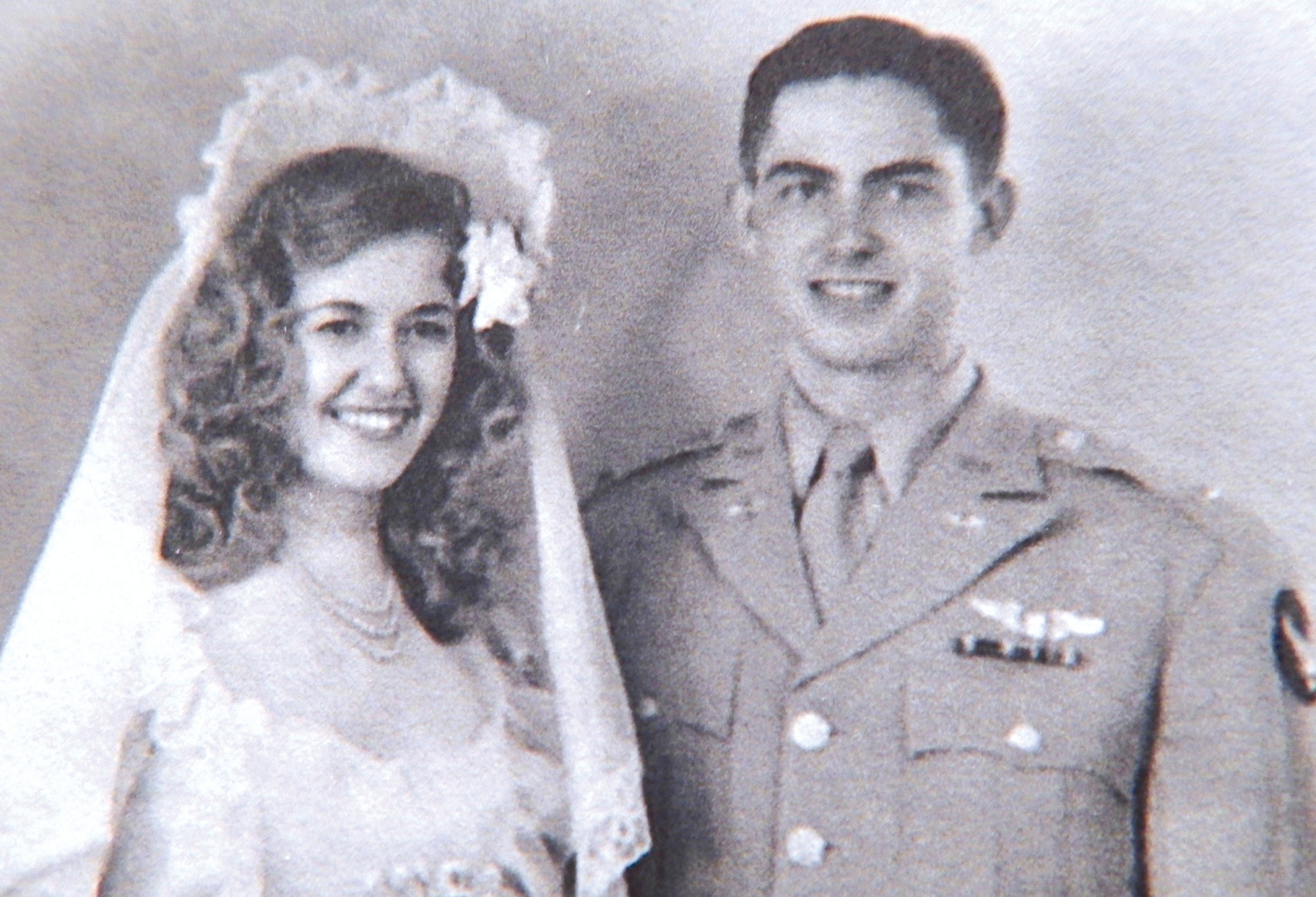Lt. Charles C. Heckel married Jacqueline Heckel 28 days after he returned to the United States after being liberated as a POW in Germany in 1945.