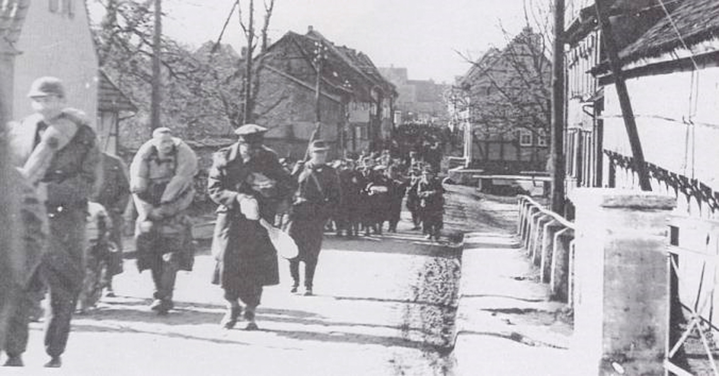 During his capture, Heckel was forced to walk for seven days on what was known as The March.