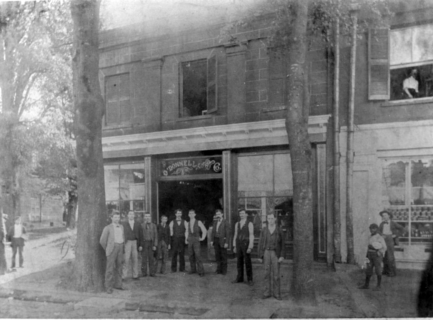 O'Donnell and Co. sold mostly groceries but also general merchandise. The owner, Neill O'Donnell, was an alderman in Sumter.