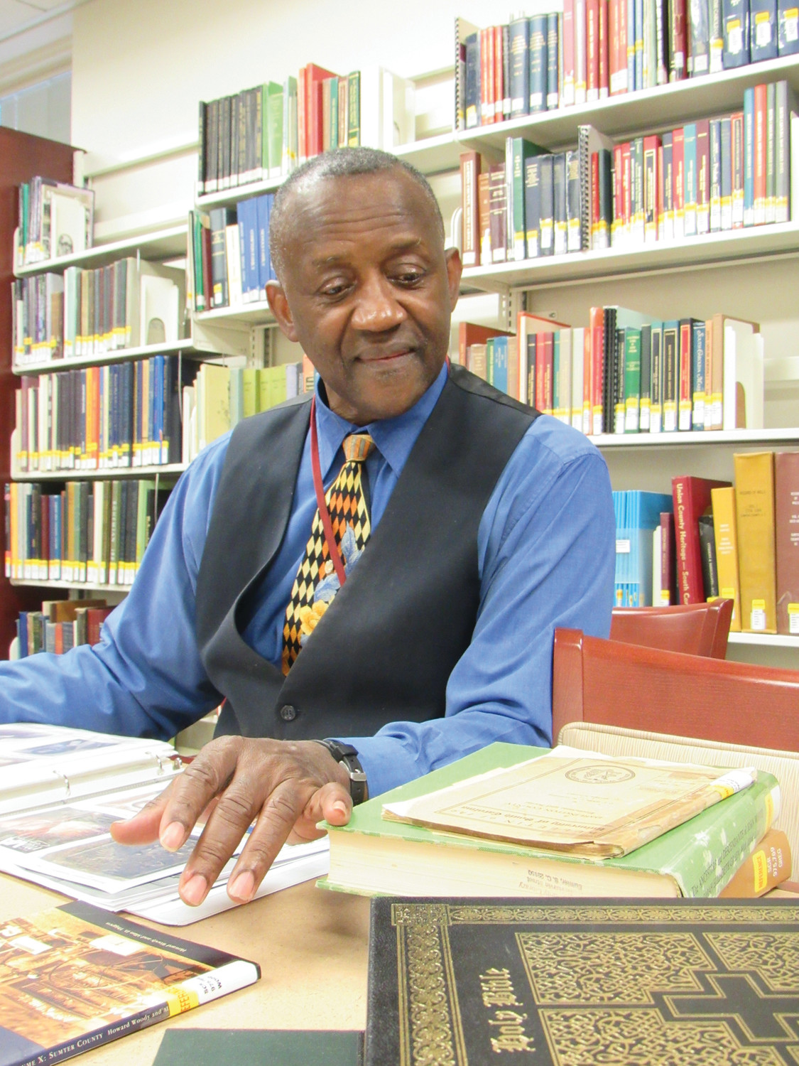 "Historian and activist George E. Frierson III will open Sumter County Library's celebration of Black History Month on Feb. 10 with a presentation titled ""Heroes and Unsung Heroes, Men of Courage and Power."""