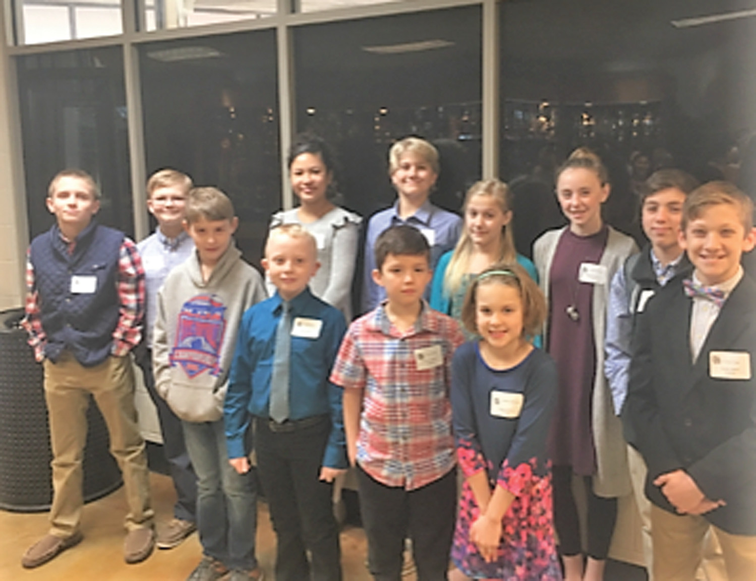 Thomas Sumter Academy participated in the recent South Carolina Independent School Association Regional Spelling Bee. TSA came in third place overall. Individual winners advancing to the State SCISA Spelling Bee on Feb. 21 include: Madison Marrow (third grade); Tyler Walton (fifth grade); and Vaughn Nedderman (seventh grade).