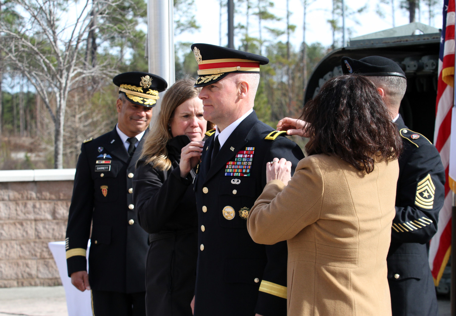 Third Army Promotes New General Friday In Sumter The