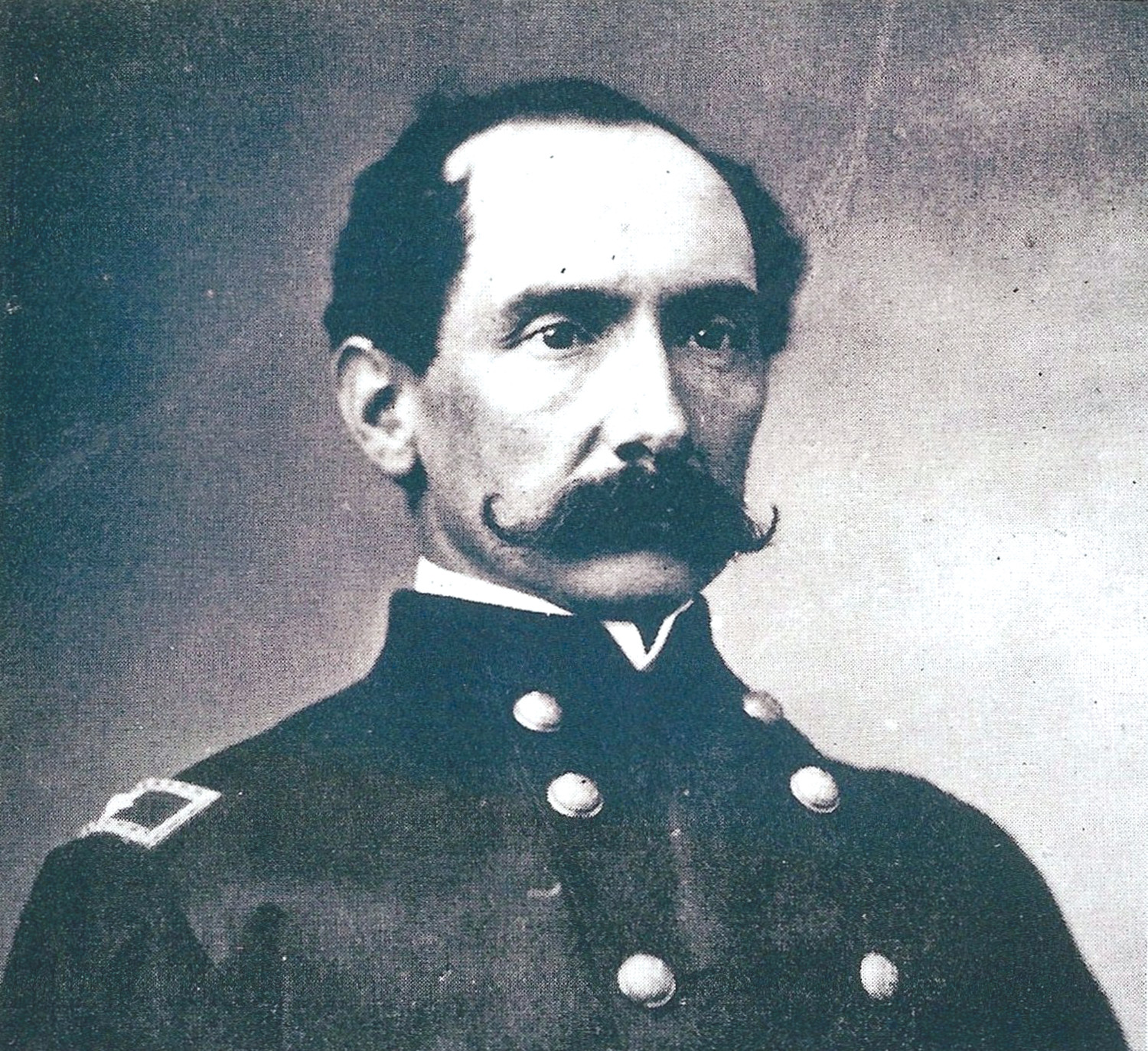 Gen. Edward E. Potter led Union forces during the Battle of Dingle's Mill, after which the first unknown soldier buried in Sumter died.
