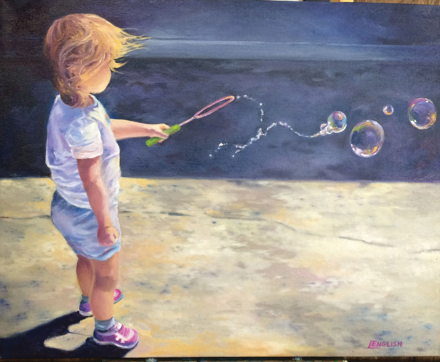 "Linda English's ""Through the Eyes of a Child"""