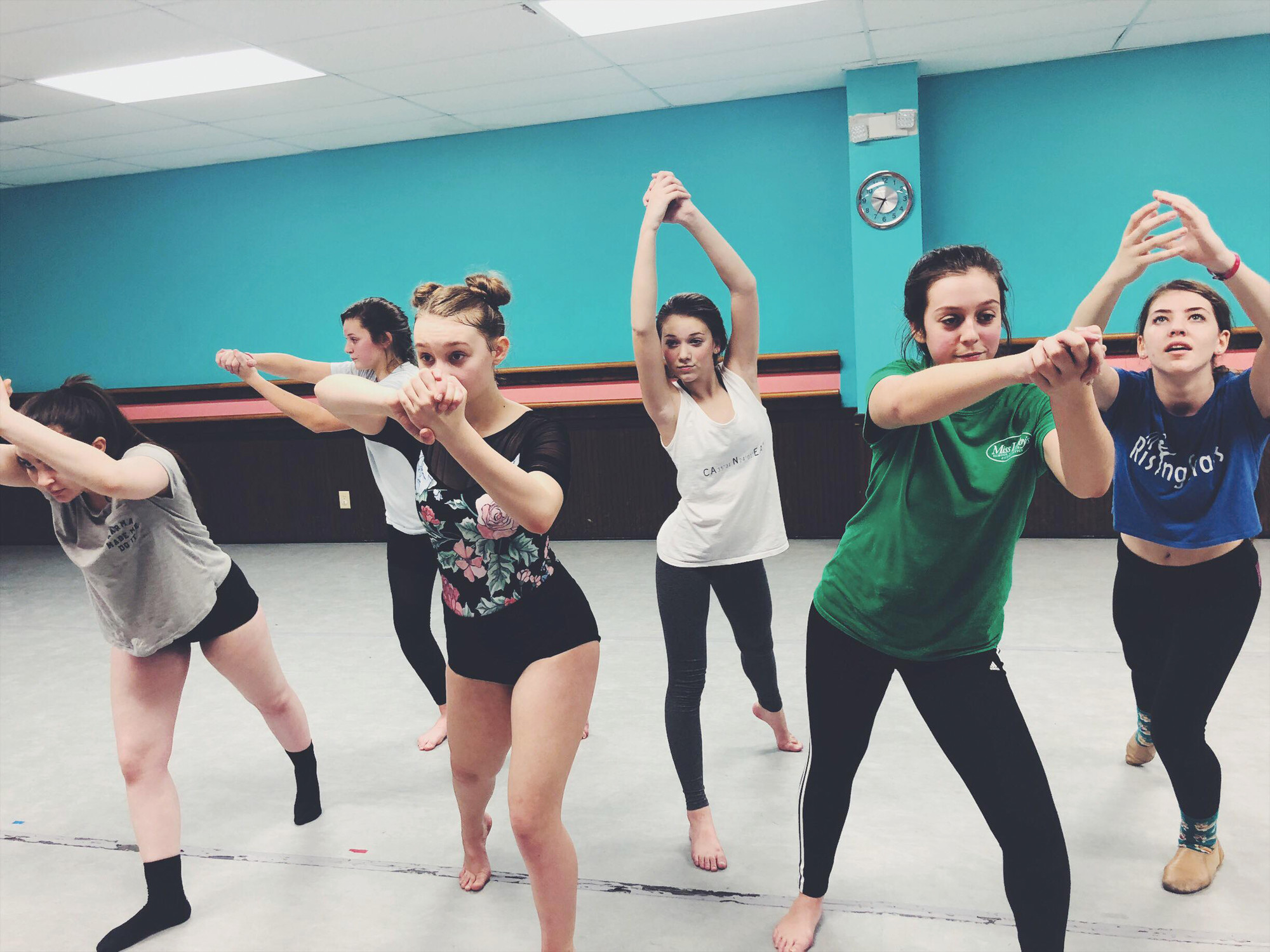 "PHOTOS PROVIDEDThe Rising Stars from Miss Libby's rehearse for a piece in ""Under the Big Top,"" the 21st Annual Sumter Arts Showcase. There will be two performances, 7 p.m. Saturday and 4 p.m. Sunday, at Patriot Hall."