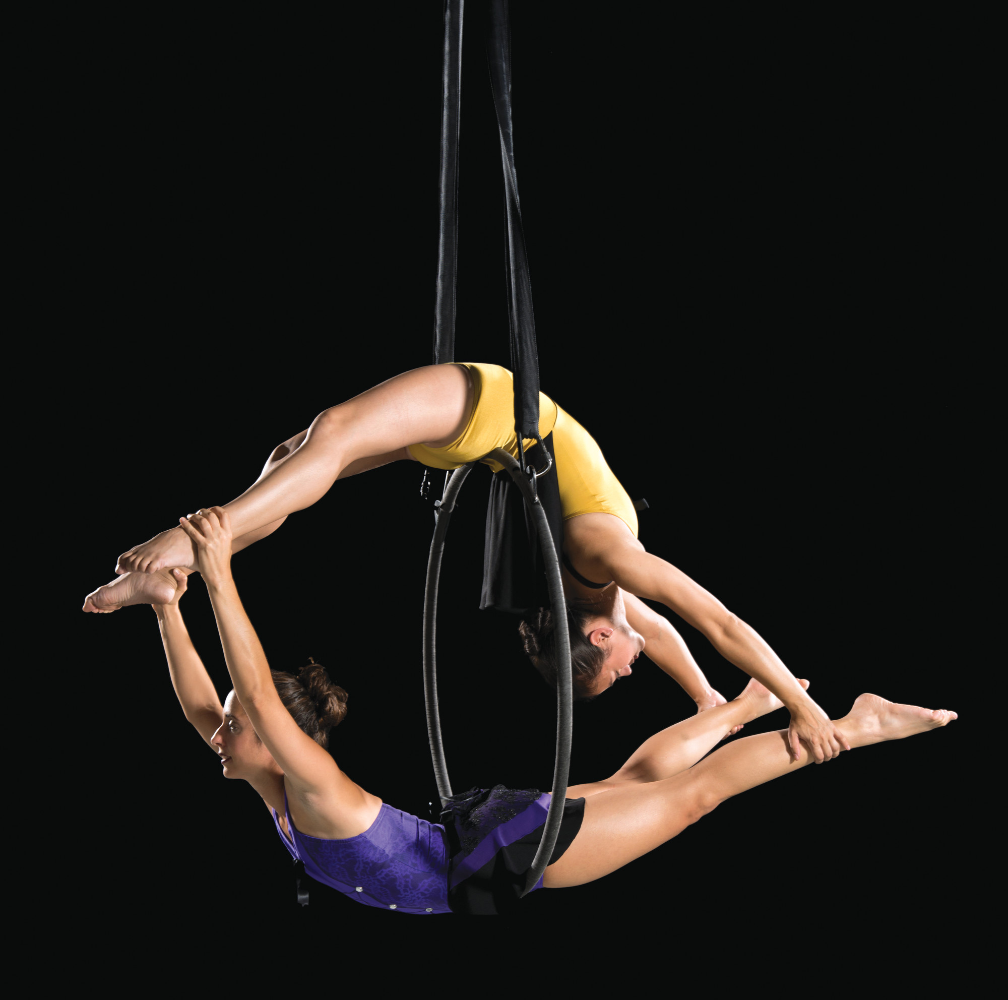PHOTOS PROVIDEDPerformers from Caroline Calouche & Company, an aerial and contemporary dance troupe based in Charlotte, will perform during the weekend's Sumter Art Showcase.