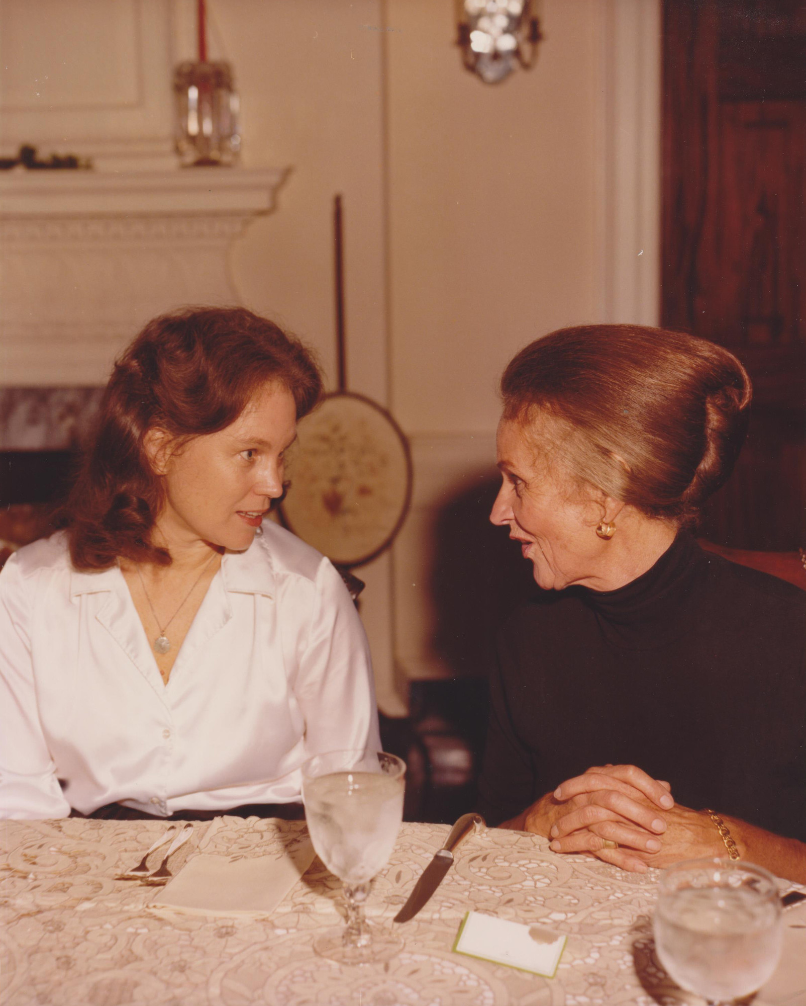 Ruth Graham and Betsy Richardson.