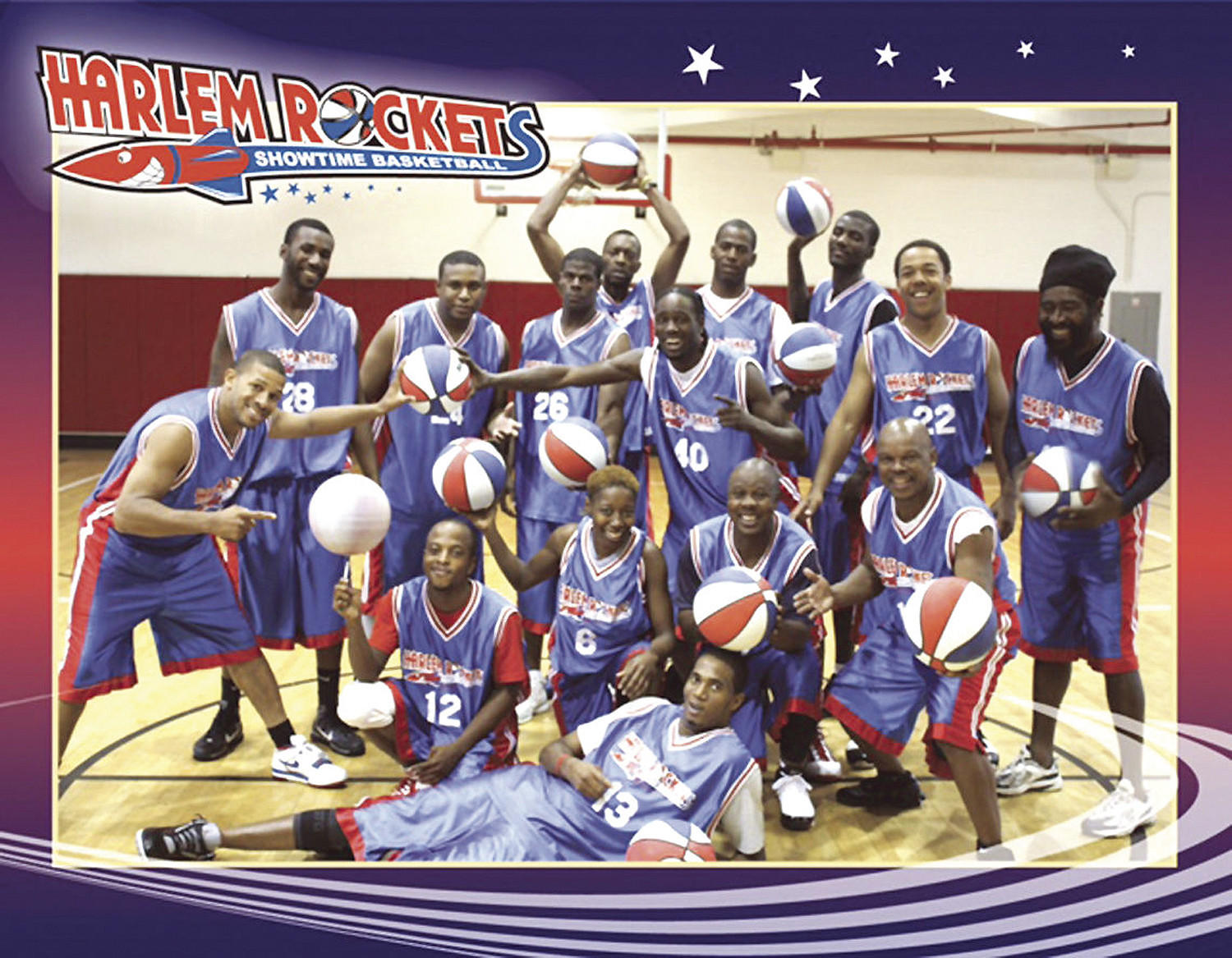 PHOTO PROVIDEDThe Harlem Rockets will perform at 6 p.m. Saturday at Lakewood High School, 305 Old Manning Road.