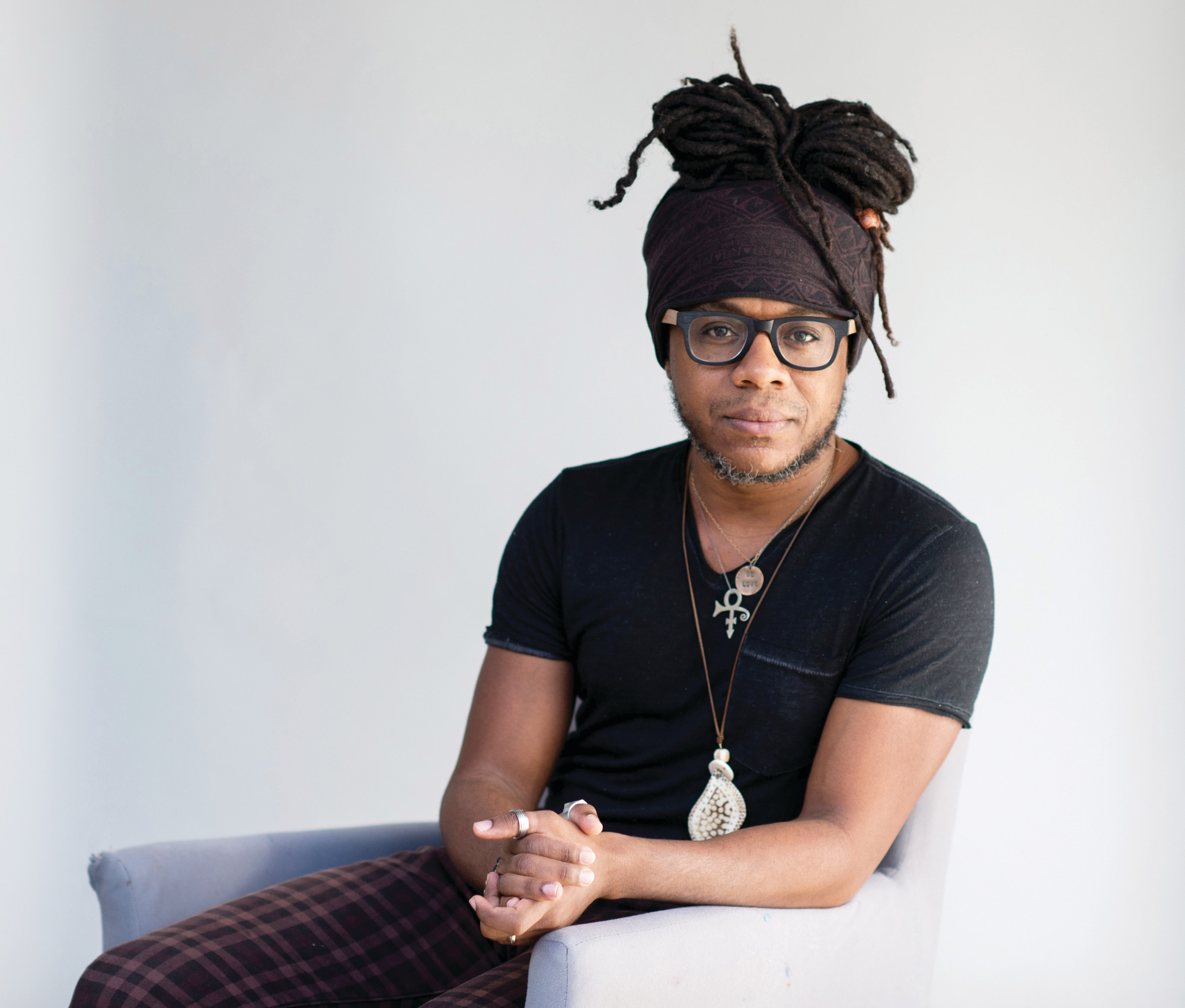 Charleston Poet Laureate Marcus Amaker will give a spoken word performance at the Love, Respect, Unity Arts Festival on Sunday at Patriot Hall.