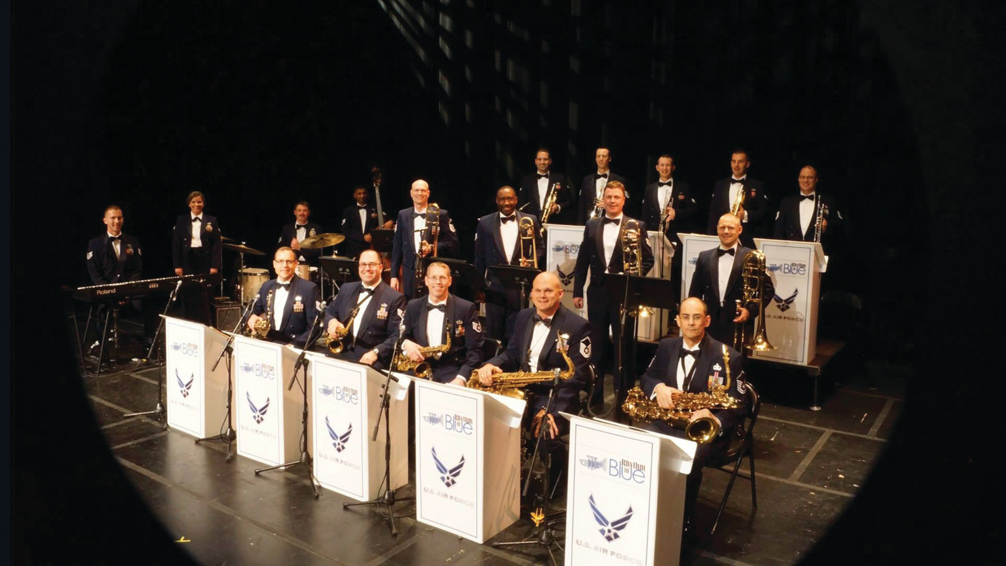 PHOTOS PROVIDEDU.S. Air Force Rhythm in Blue will close out the inaugural Love, Respect, Unity Arts Festival sponsored by the Sumter County Cultural Commission and the Arthenia Jackson Bates Millican Foundation on Sunday afternoon at Patriot Hall.