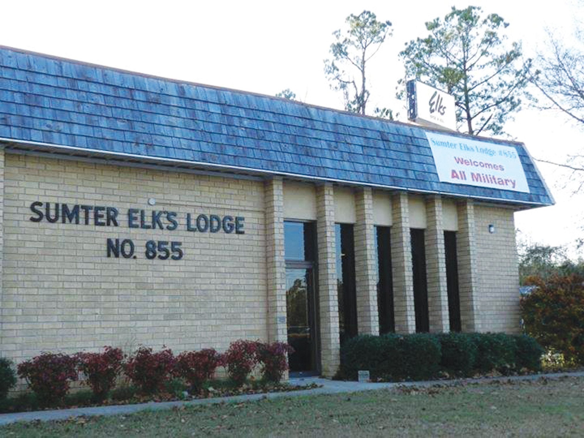 PHOTOS PROVIDEDElks Lodge 855 was founded in 1903, with members focusing on service to the community.