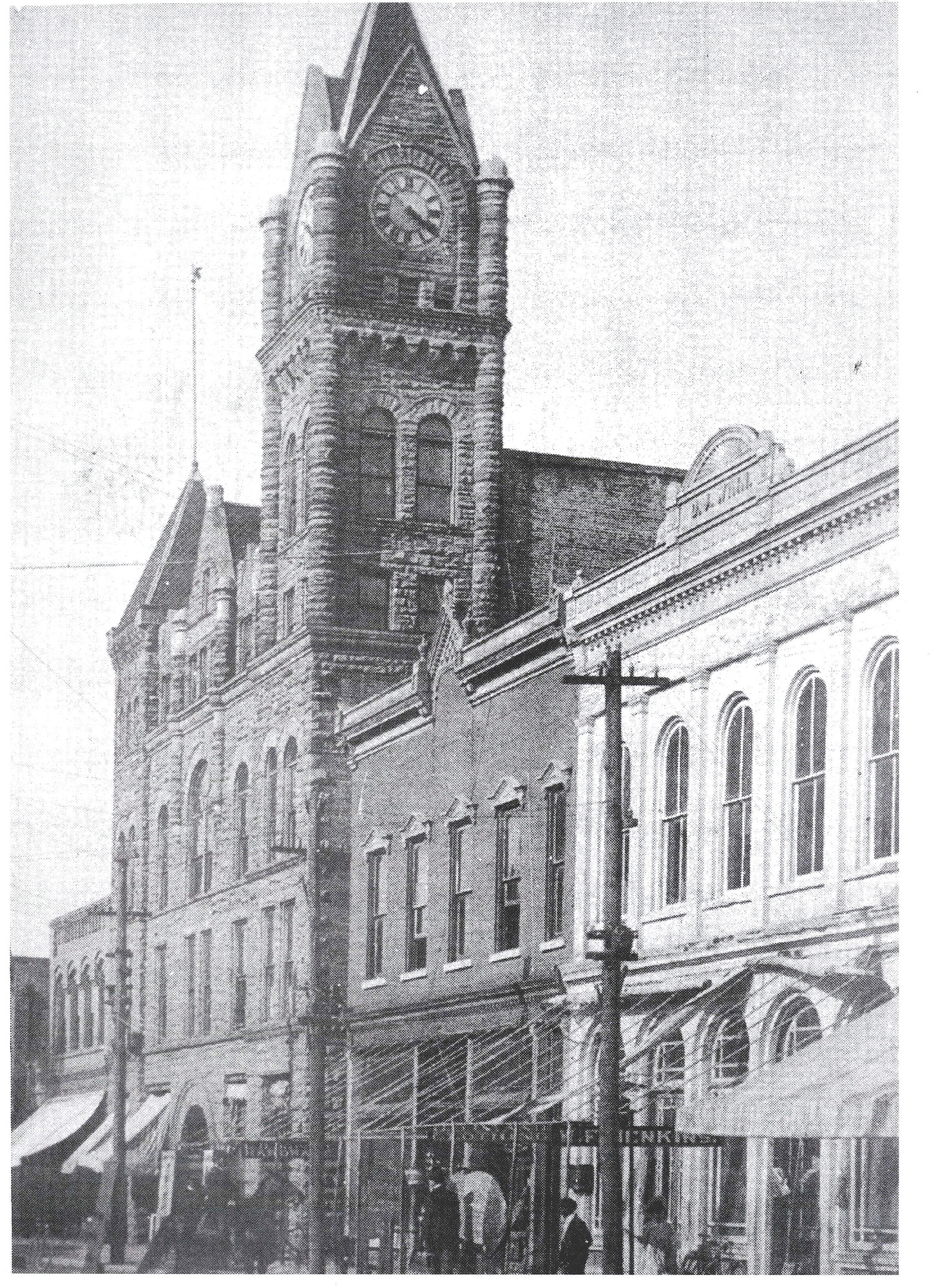 Several well-known theater groups performed on the second floor of Sumter's landmark, The Opera House, during this era.