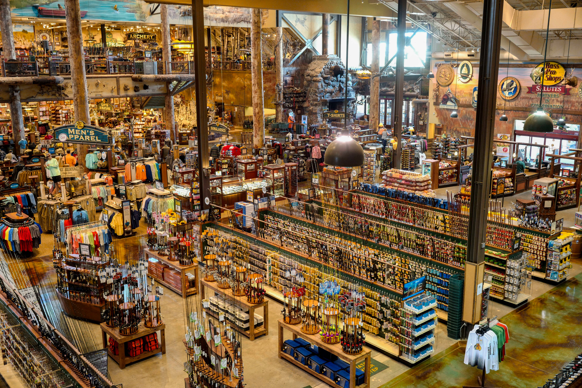 the associated pressthe sales floor is seen at a bass pro shops store in council bluffs - Bass Pro After Christmas Sale