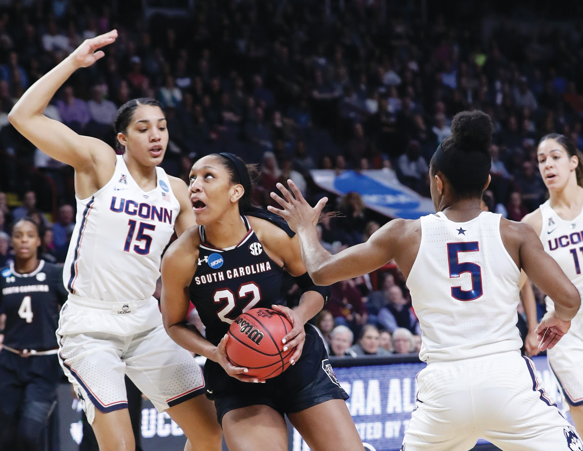 South Carolina's A'ja Wilson was named the Associated Press' women's player of the year on Thursday, the first player from the school to be so honored.