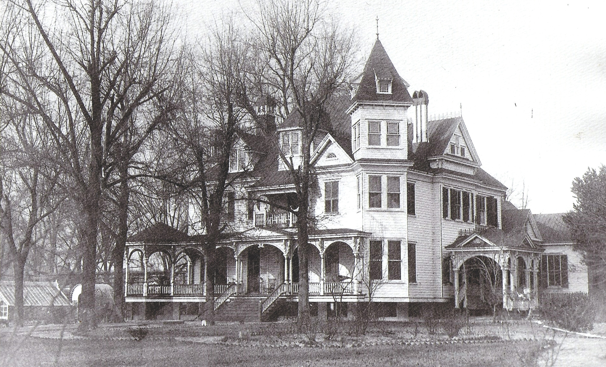 SUMTER ITEM FILE PHOTOS  The Harby Home at southwest corner of Church and Haynsworth streets, built circa 1892.