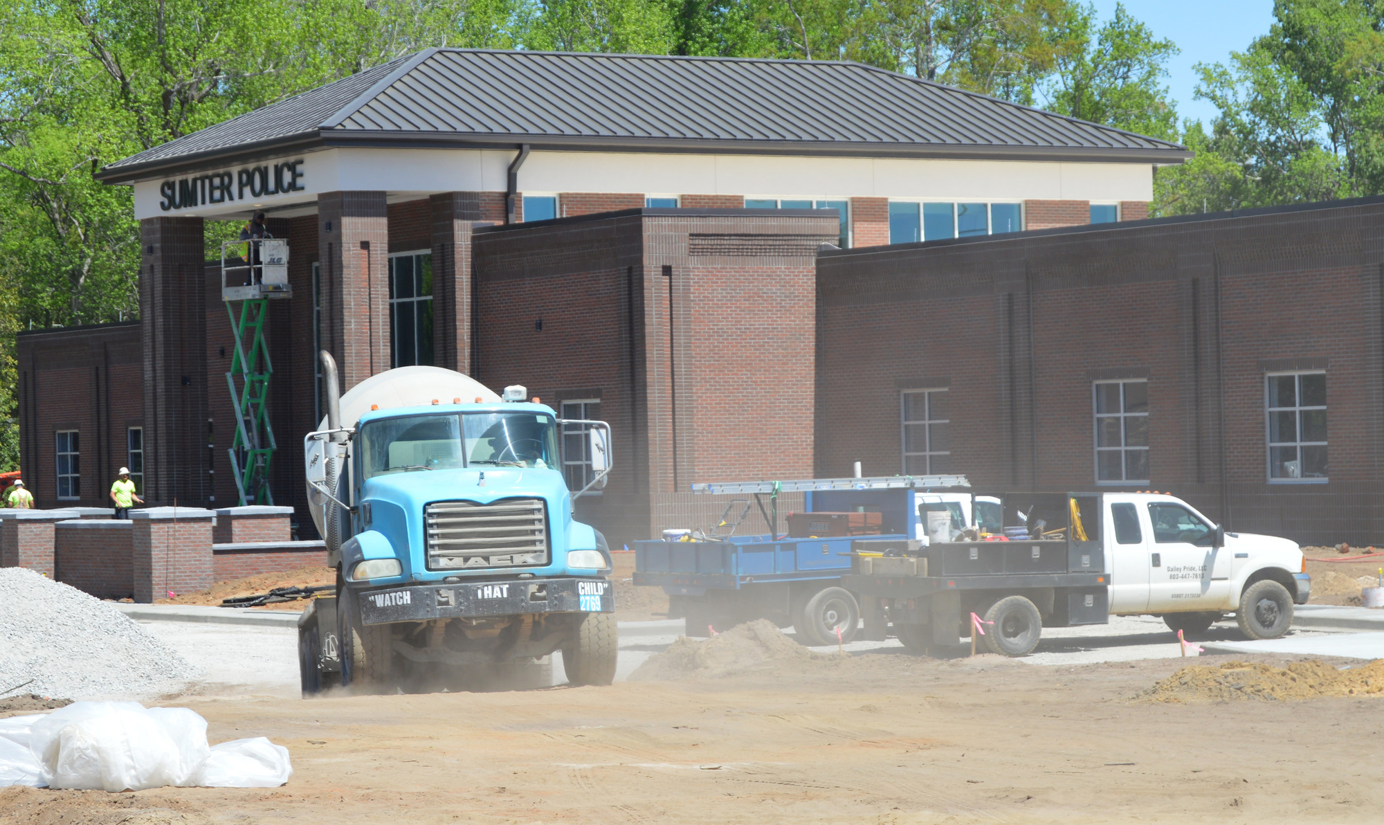 The 2014 Capital Penny Sales Tax project will include 36,000 square feet for Sumter Police Department and more than 21,000 square