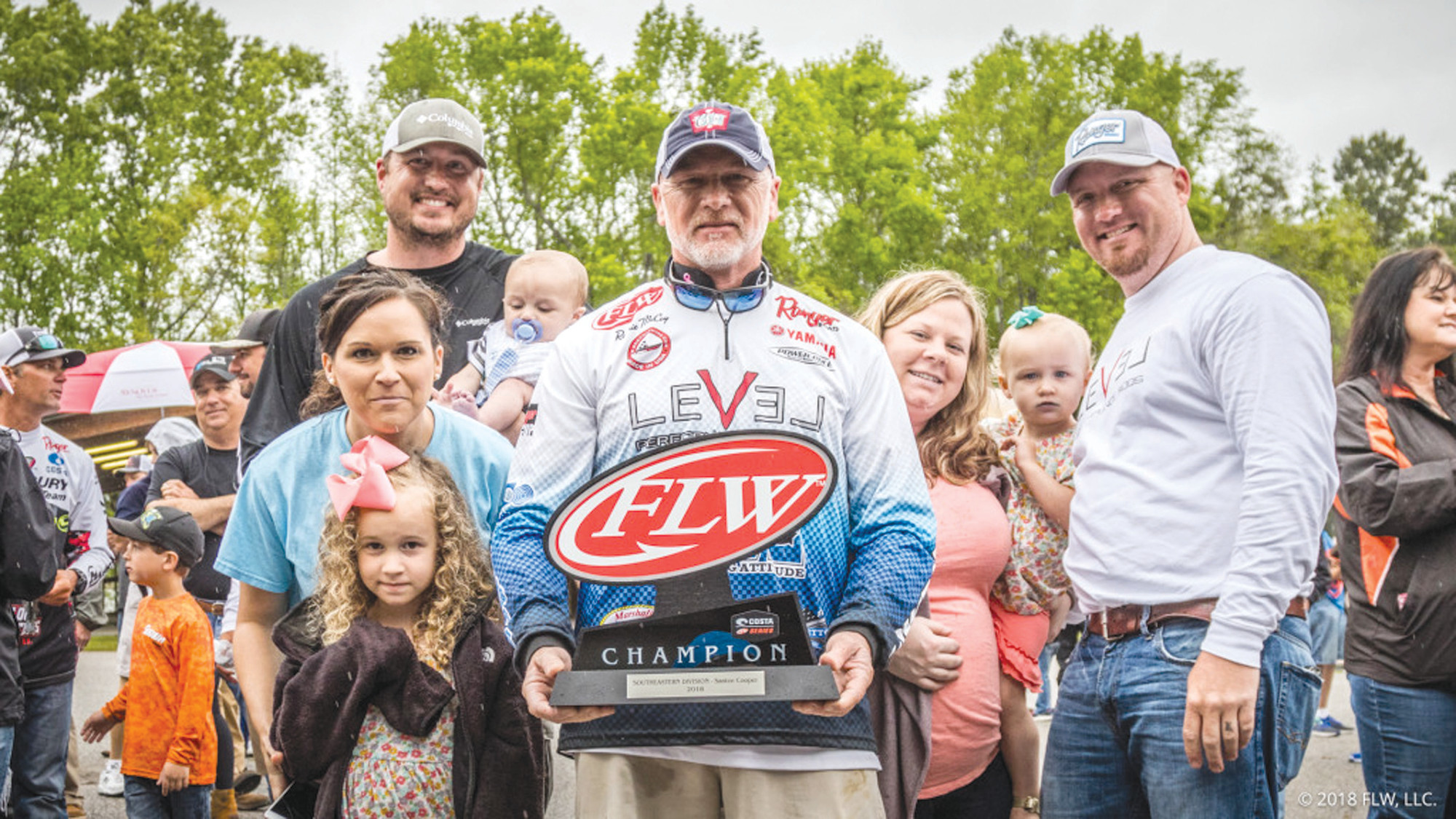 Tournament champion Ronnie McCoy won the Costa FLW Series Southeastern Division tournament.