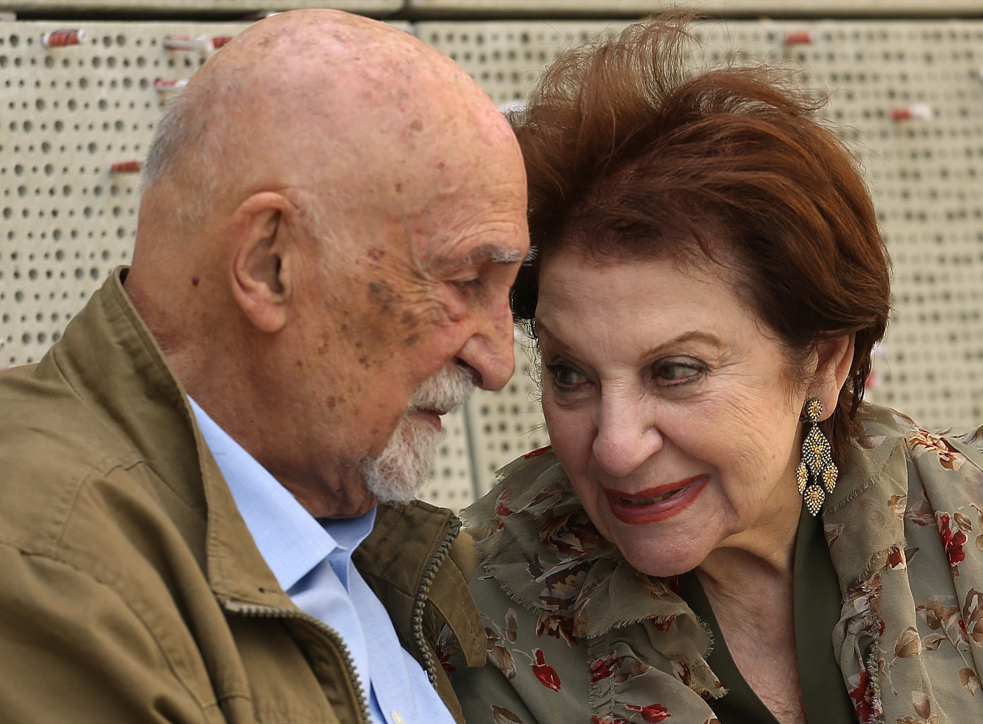 THE ASSOCIATED PRESSChildhood Holocaust survivors Simon Gronowski and Alice Gerstel Weit talk Wednesday as they are interviewed at the Los Angeles Holocaust Museum, after their reunion after more than 70 years.