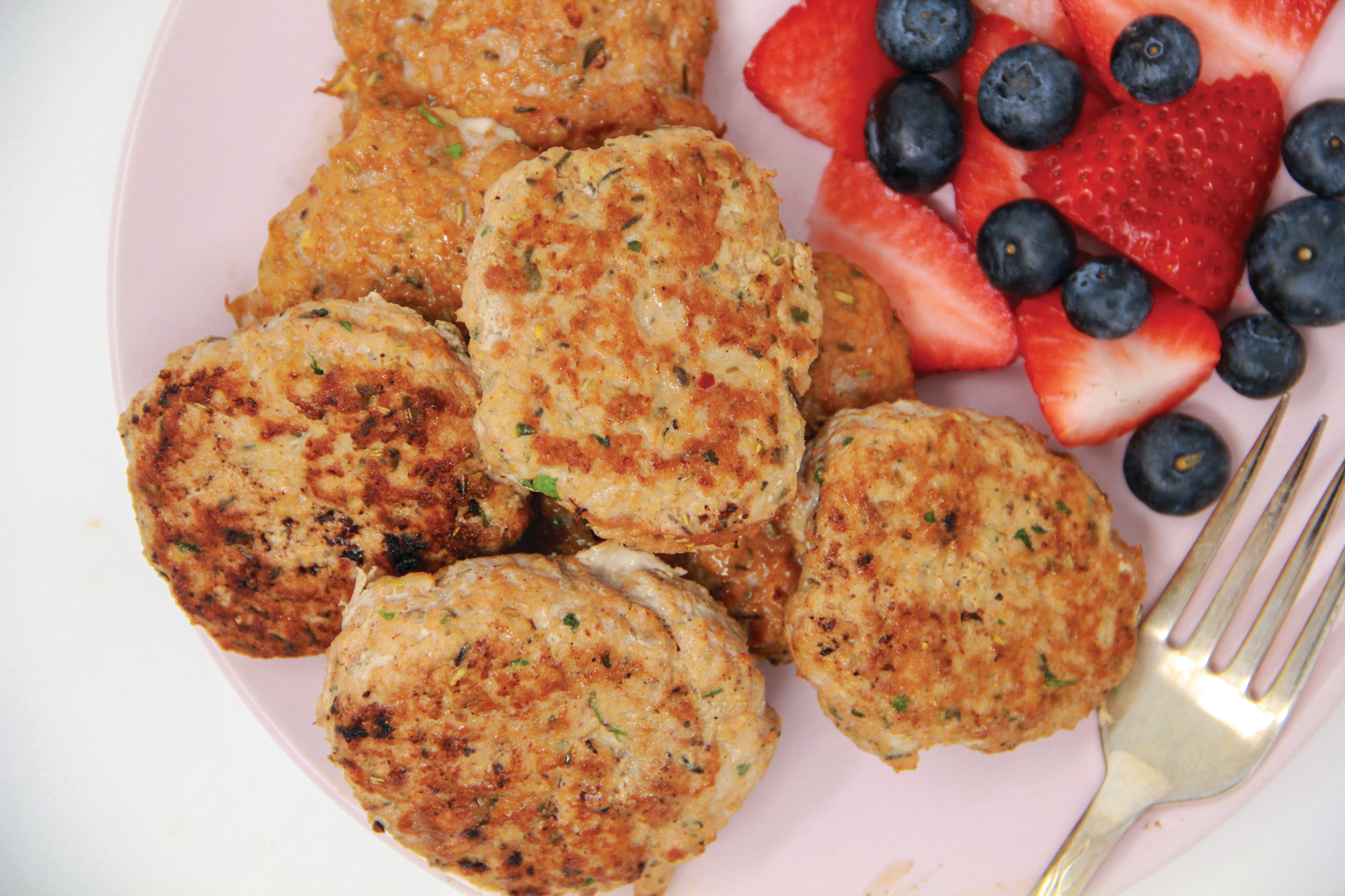 Homemade turkey breakfast sausage is seen in Bethesda, Maryland. Making your own breakfast sausage patties is surprisingly quick and just plain smart: you can adjust flavors according to your preferences and control the quality of the ingredients.