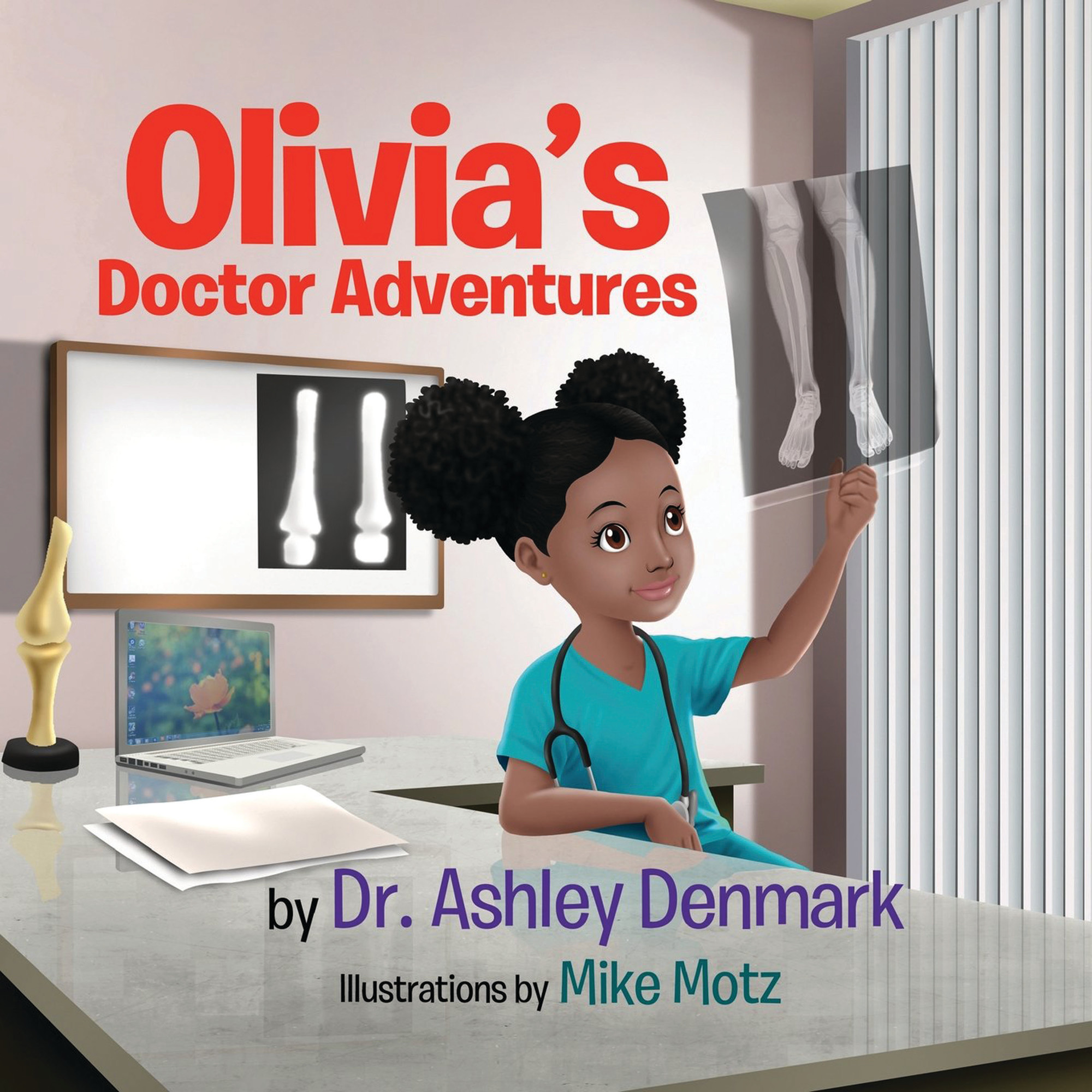 Dr. Ashley Denmark's children's book teaches young people about different types of doctors.