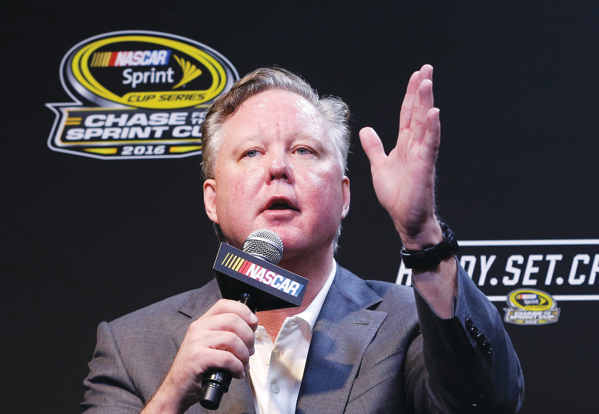 NASCAR CEO and Chairman Brian France is taking an indefinite leave of absence after charges of driving while intoxicated and criminal possession of oxycodone.