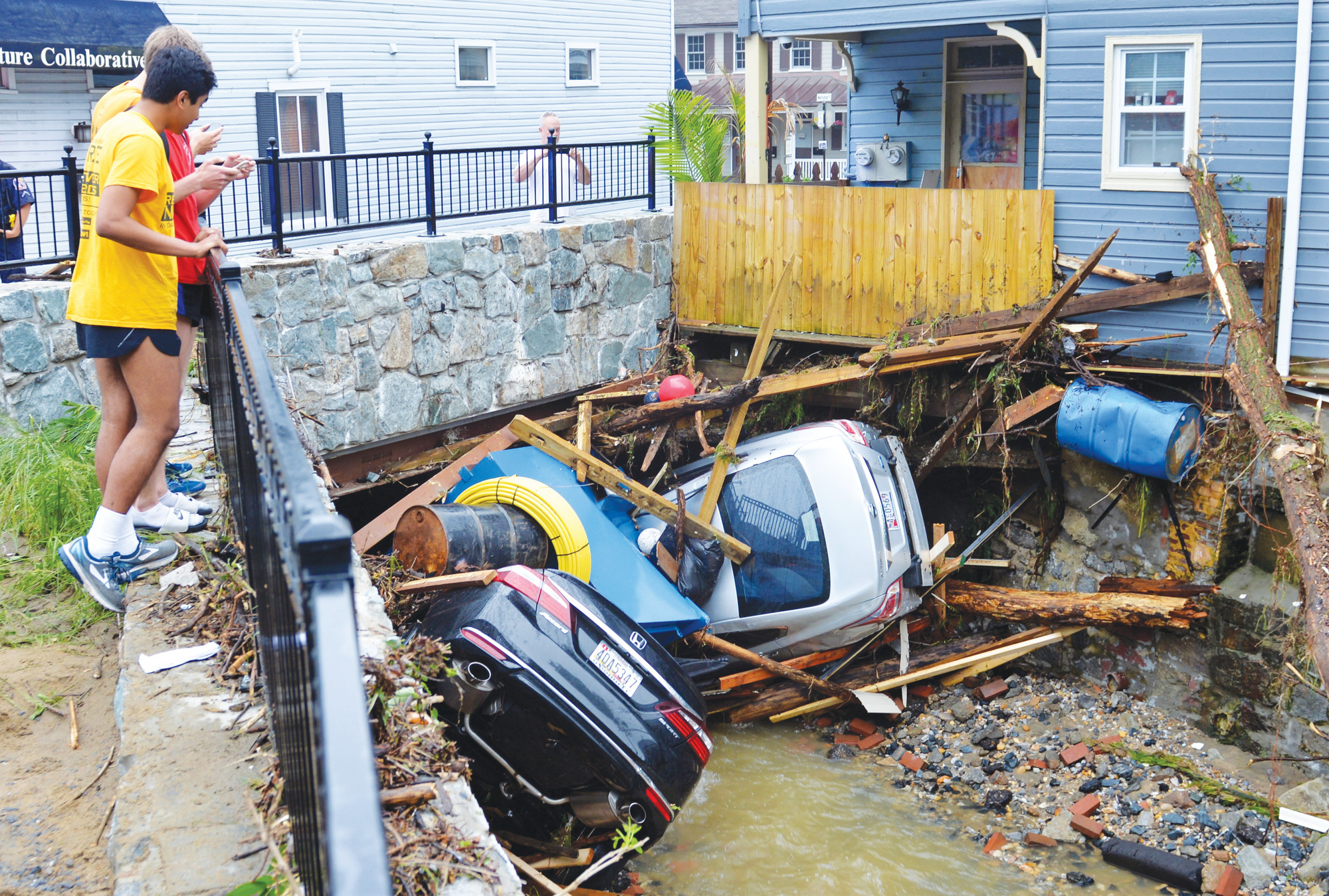 Flooded residents in Maryland wonder about rebuilding | The Sumter Item