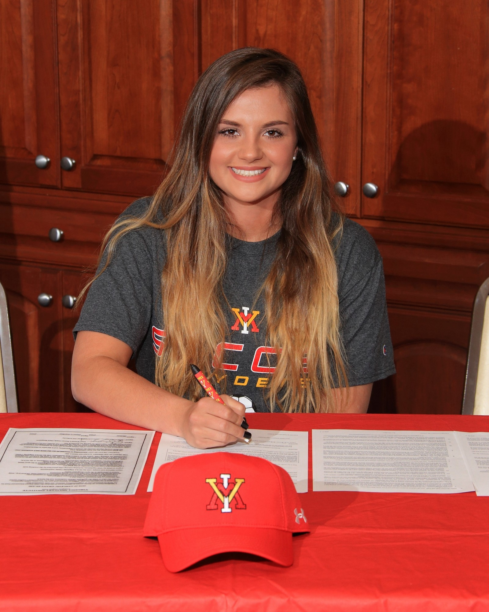 Photo provided  Sumter native Madison Player has signed to play college soccer with Virginia Military Institute in Lexington, Va. She is the daughter of Roger and Kellee Player of Danville, Virginia, and the granddaughter of Jane Player PriVette of Sumter.