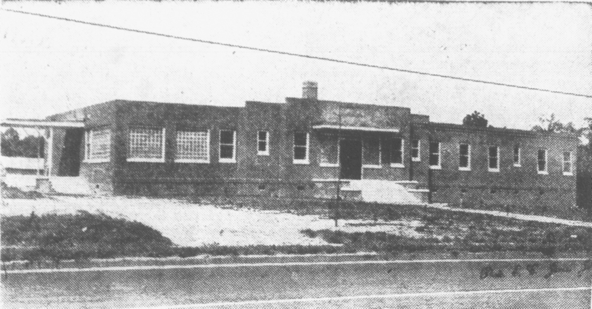 The Community Hospital for Sumter's black residents was completed in 1949 just outside the city limits on Broad Street. The facility now houses Community Residential Care.
