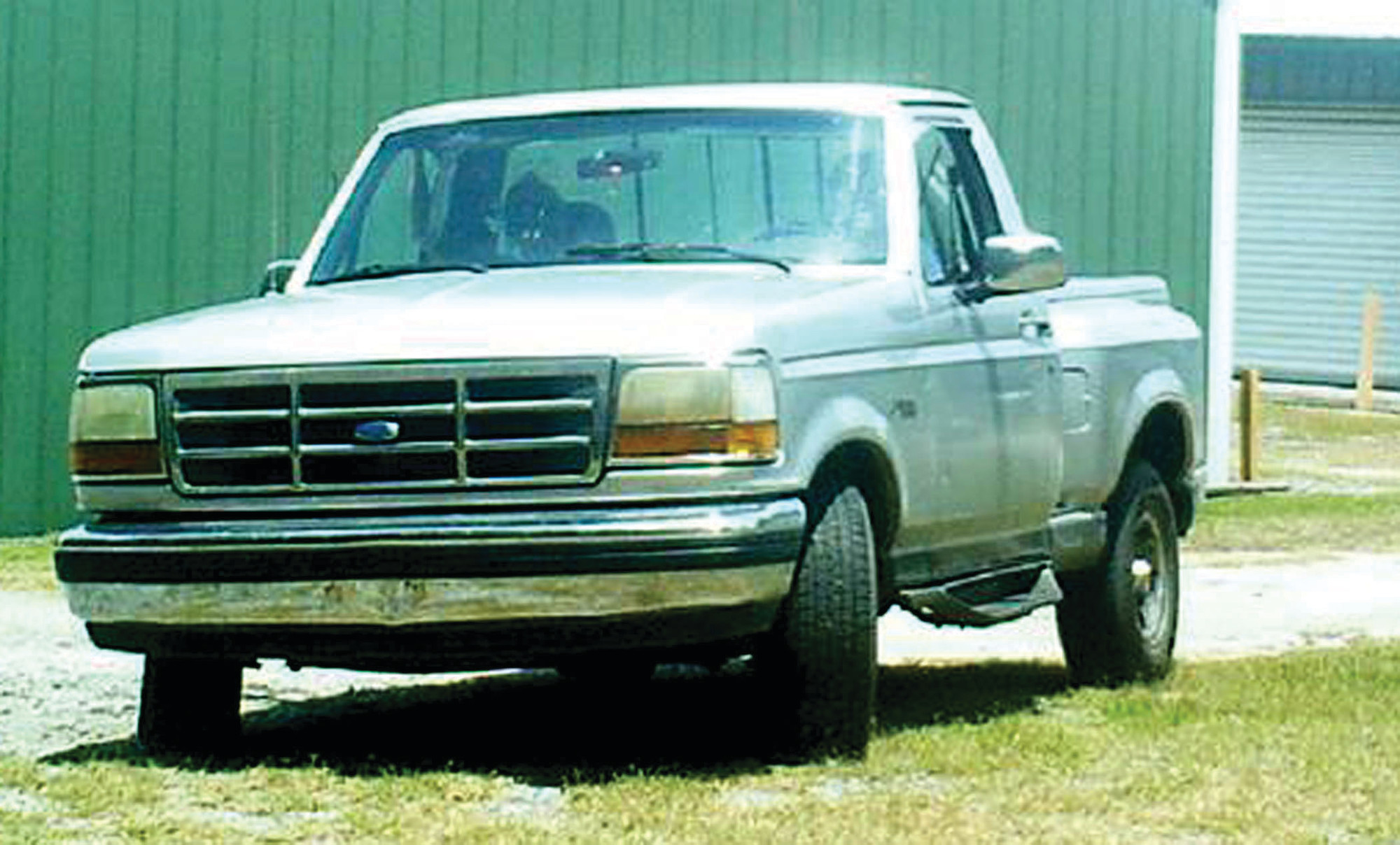 The sheriff's office is also asking for help in identifying a vehicle that was parked inside a fence at storage units near the   intersection of S.C. 521 (Greeleyville Highway) and Bloomville Road on May 23.