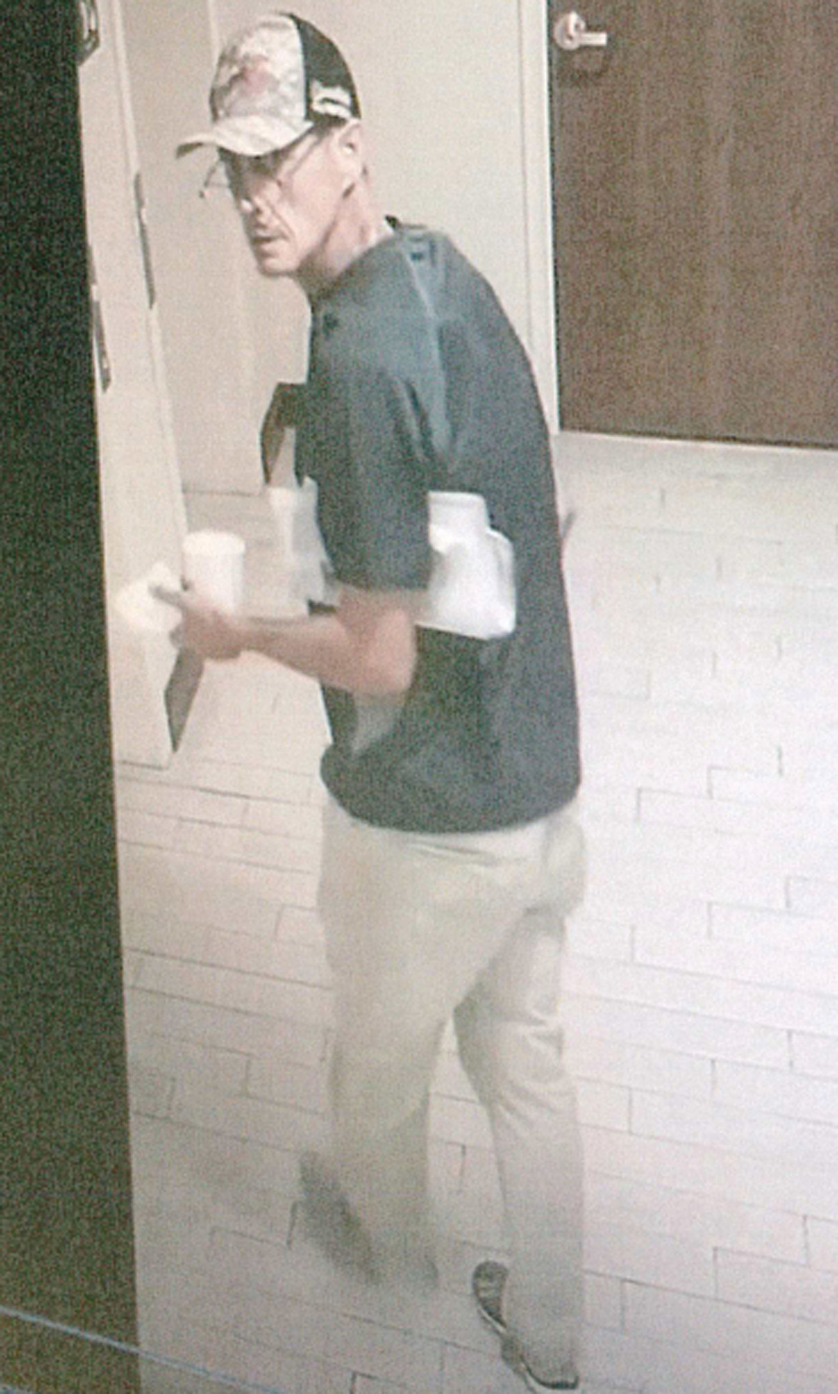 Clarendon County Sheriff's Office is asking for help identifying the man in a surveillance video taken June 16 at Hampton Inn by Hilton at 2822 Paxville Highway, near Interstate 95 at exit 119.