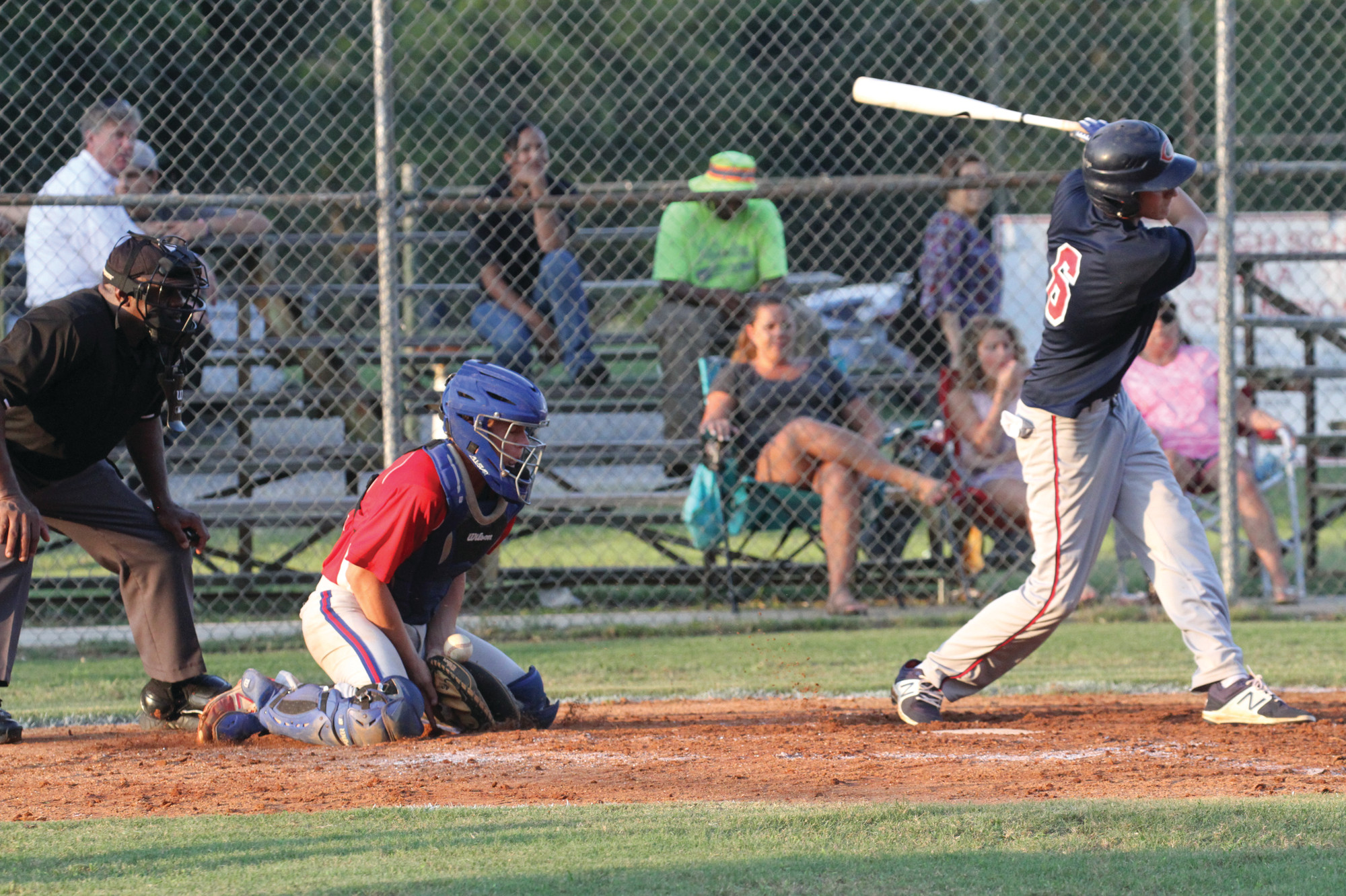 Photo provided by Natalie Bryant DuComSumter Junior P-15's catcher Sebastian DuCom, shown blocking a pitch, and his teammates open the state playoffs today at Riley Park at 7 p.m. against Marlboro.