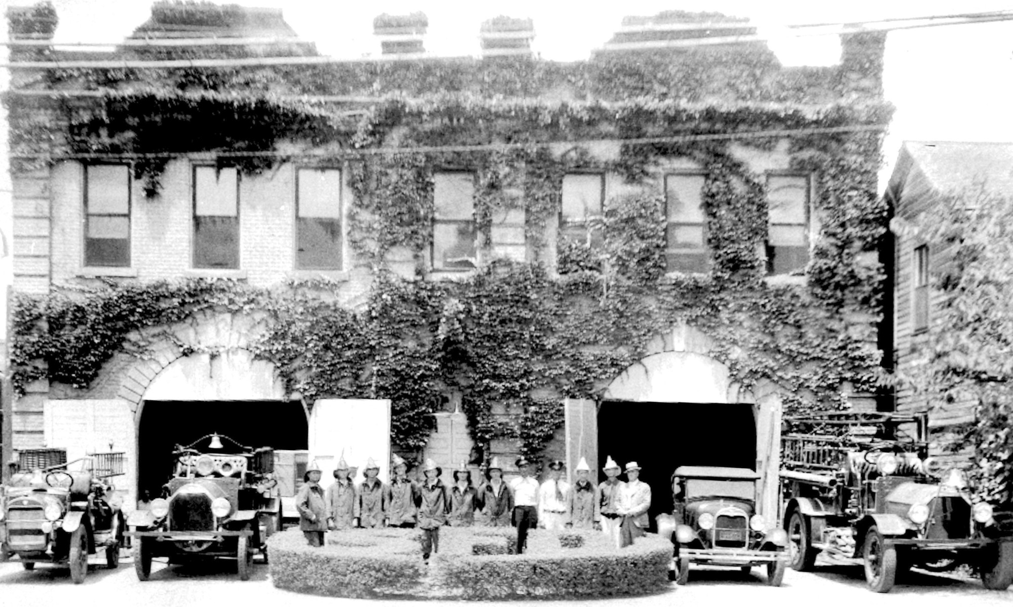 Sumter Fire Department was located on Harvin Street before it was torn down circa 1970.