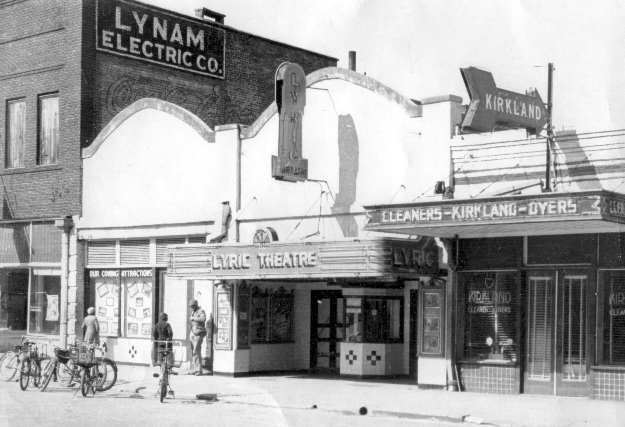 The Lyric Theater was on Liberty Street.